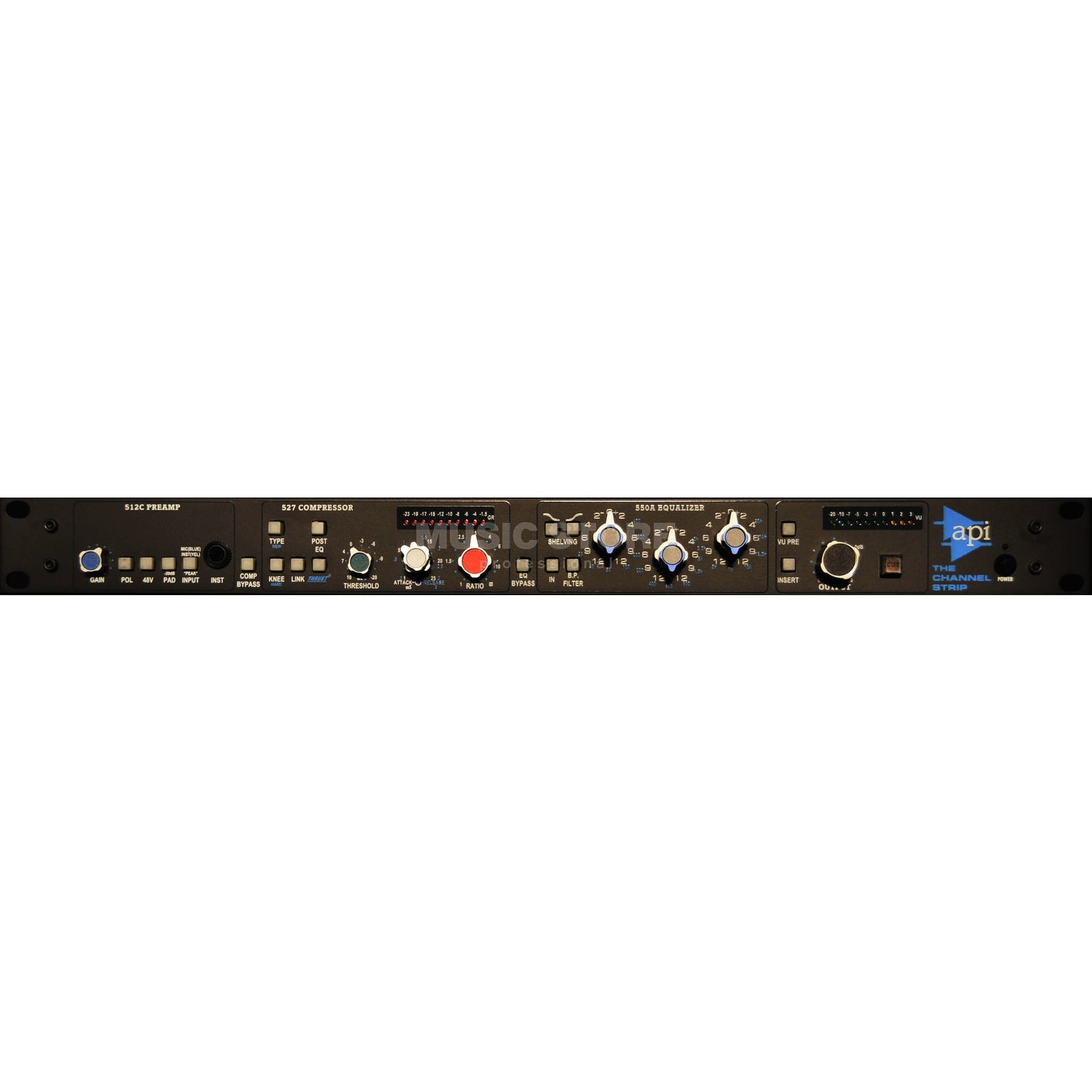 API TCS Channel Strip MicPre,EQ, Comp, Line Driver Produktbild