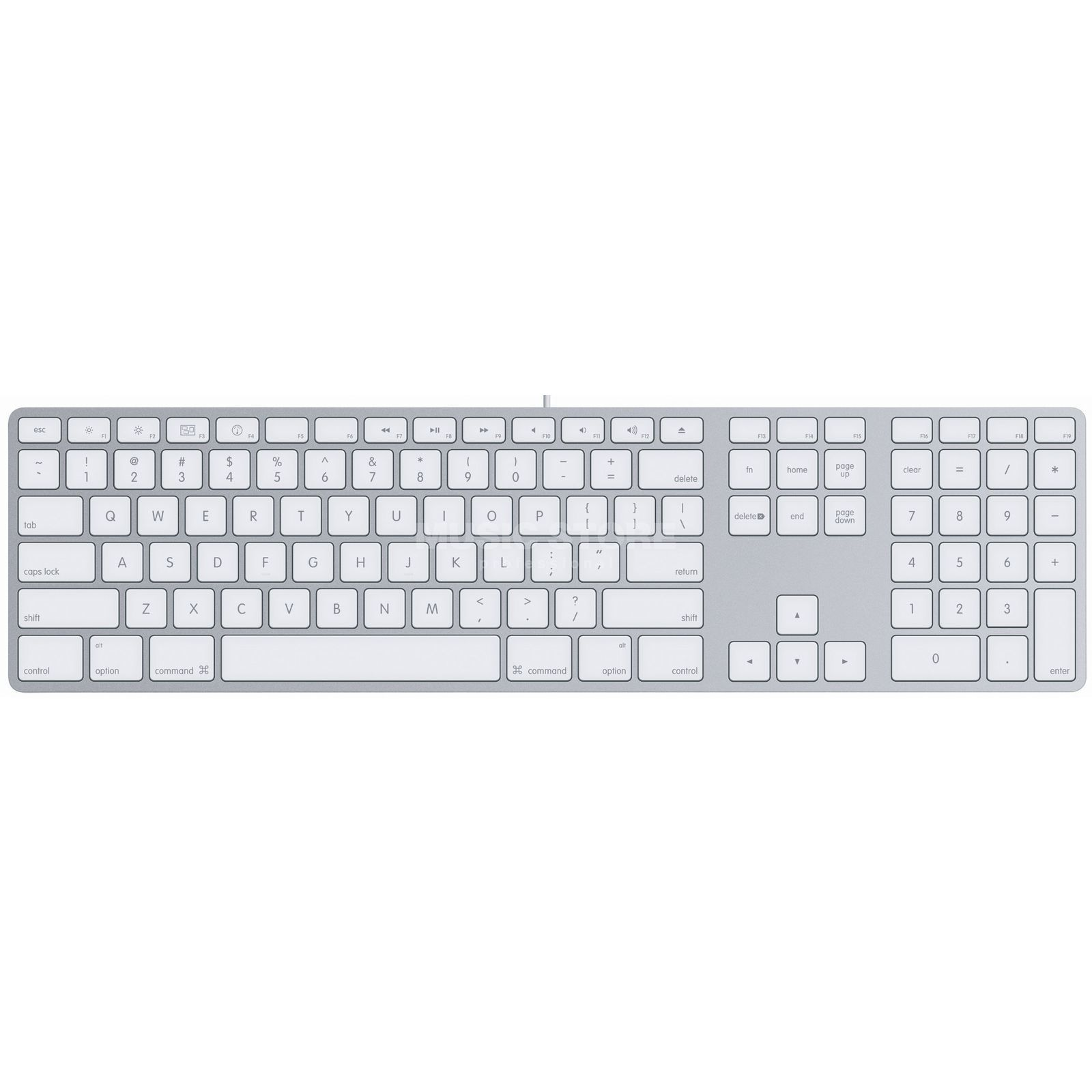 Apple Keyboard Alu Deutsch Produktbild