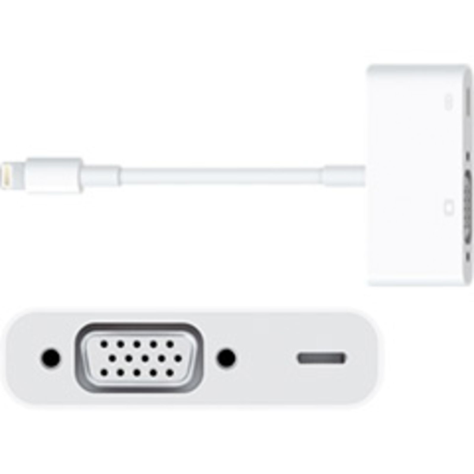 Apple Lightning auf VGA Adapter  Produktbild