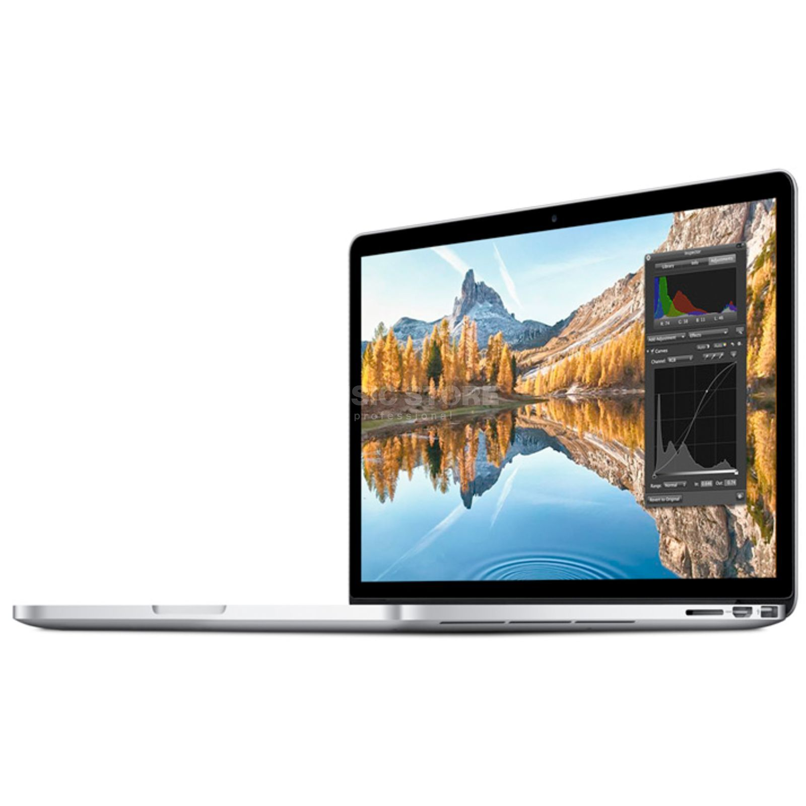 "Apple MacBook Pro 13"" 2,7GHz Retina Int. 8GB RAM, 128GB PCIe Flash Produktbild"