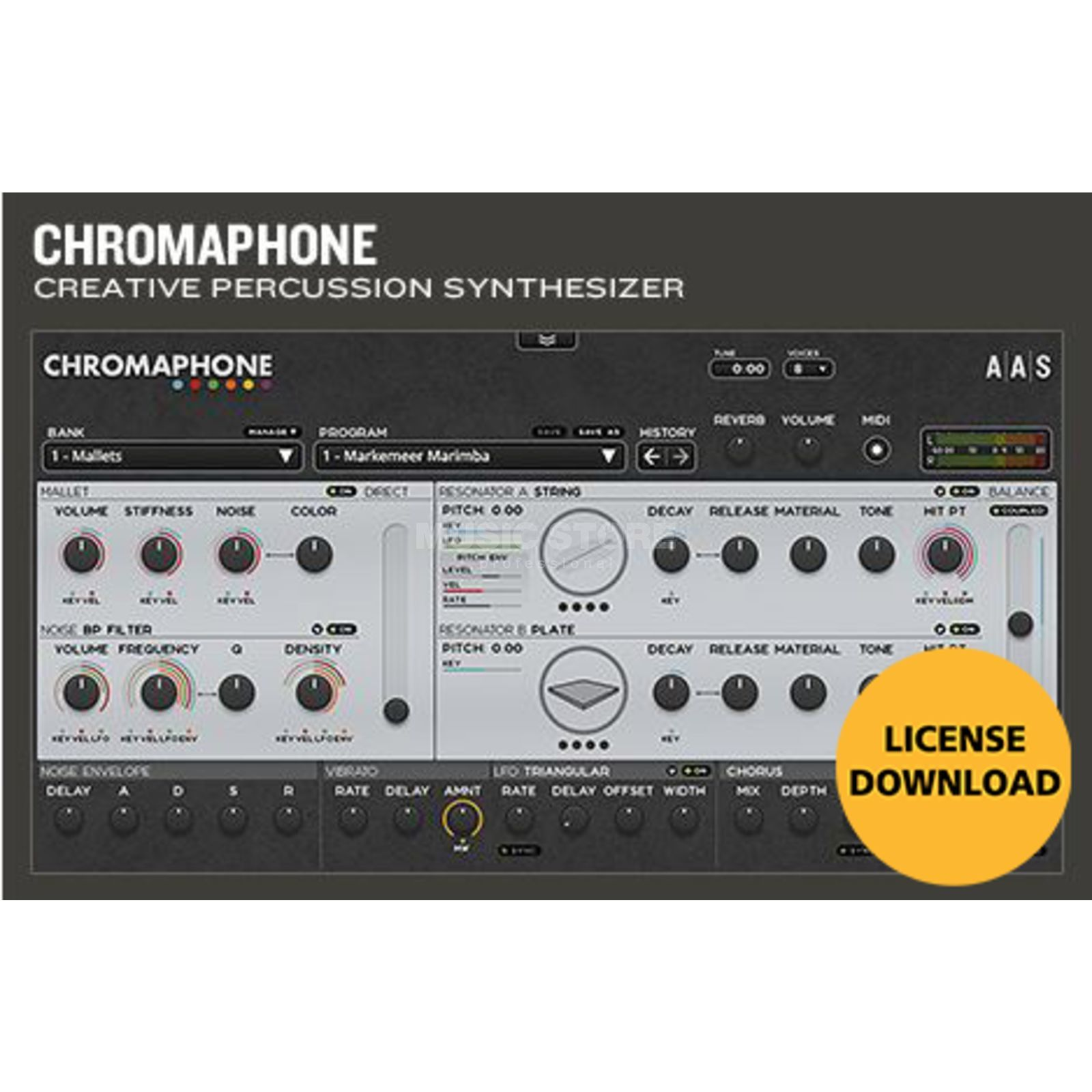 Applied Acoustic Systems AAS Chromaphone (Code)  Produktbild