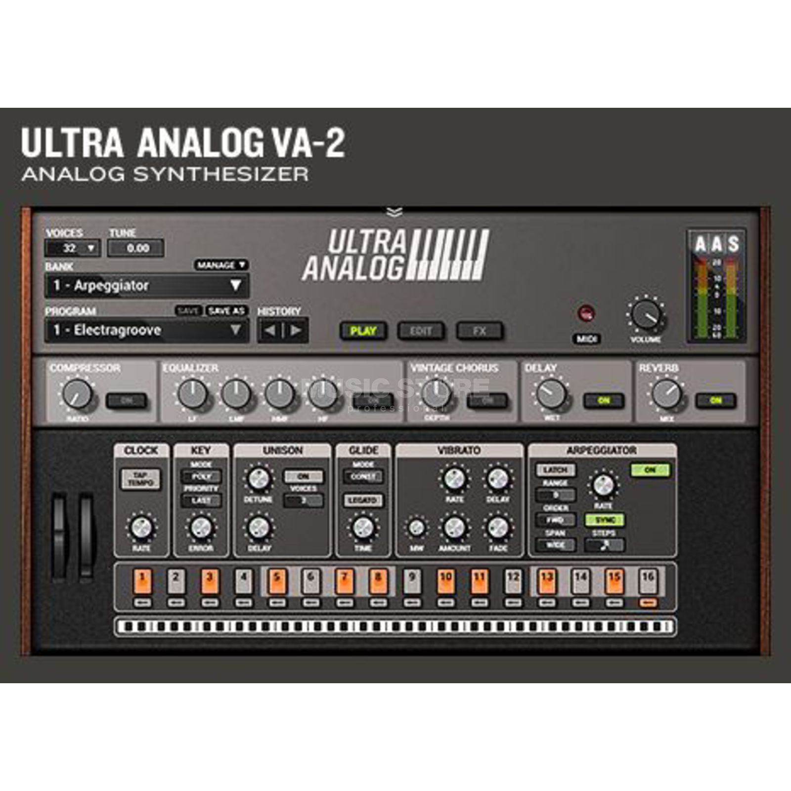 Applied Acoustic Systems AAS Ultra Analog VA-2  Produktbild