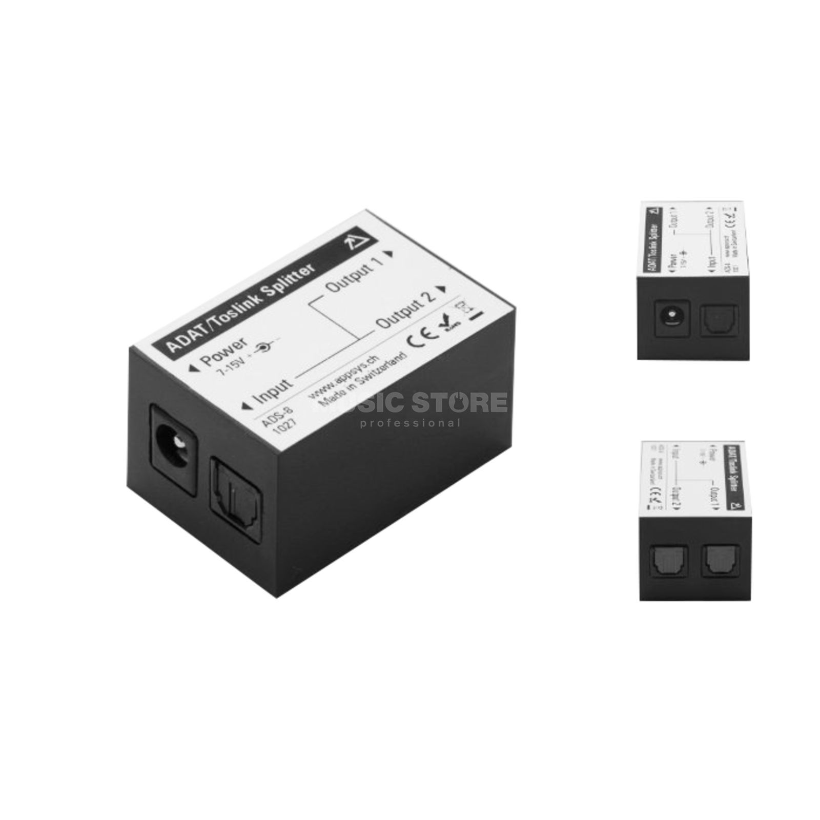 Appsys ADS-8 ADAT/Toslink Splitter and Repeater active Produktbillede