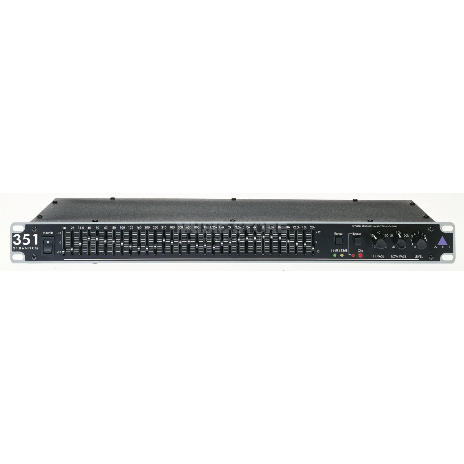 ART Applied Research & Technology EQ 351 Single 31 Band Equalizer Produktbillede