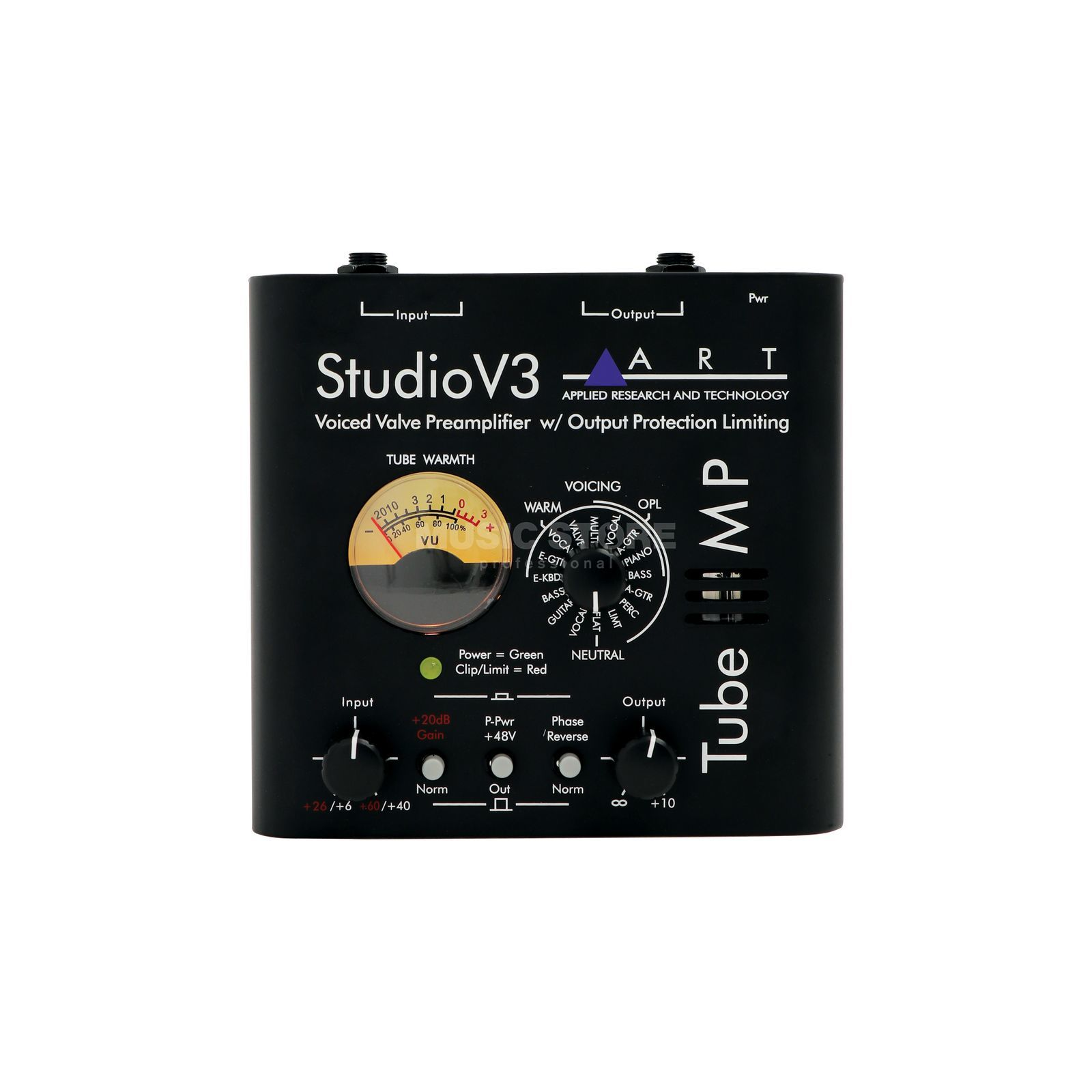 ART Applied Research & Technology Tube MP Studio V3 1-Ch Mic/Limiter/VU/15 Presets Produktbild