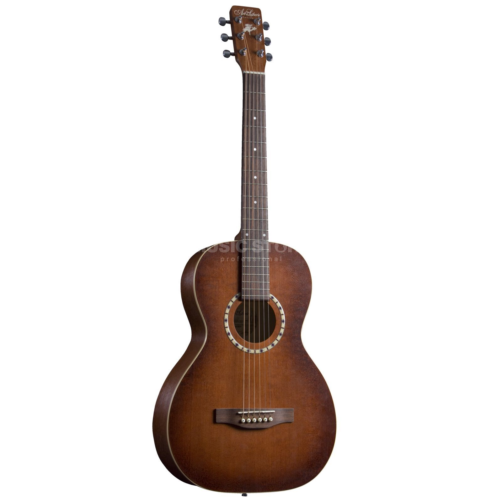 Art Lutherie AMI Steel Cedar Antique Burst incl. Bag Produktbild
