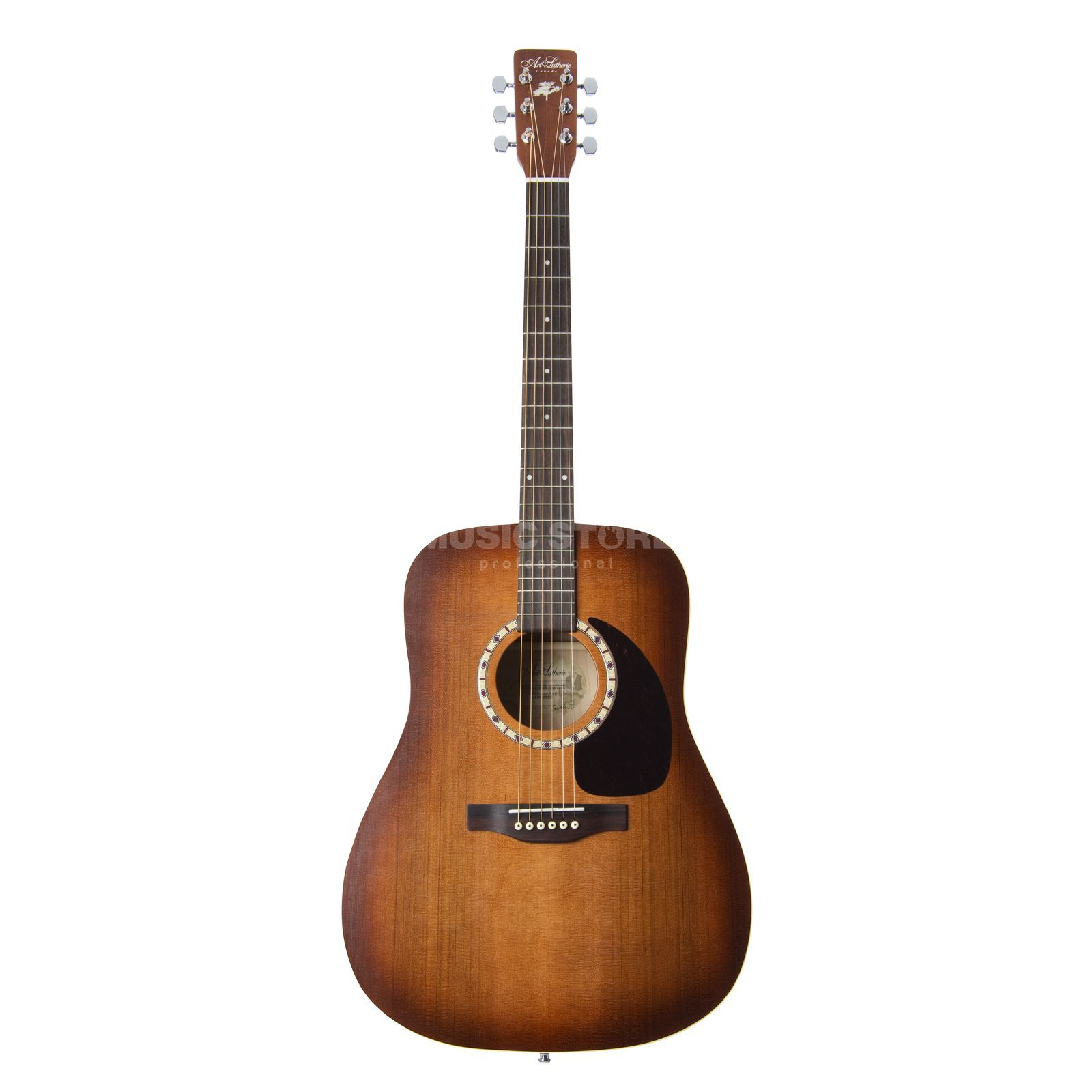 Art Lutherie Dreadnought Antique Burst solid Cedar Top Produktbillede