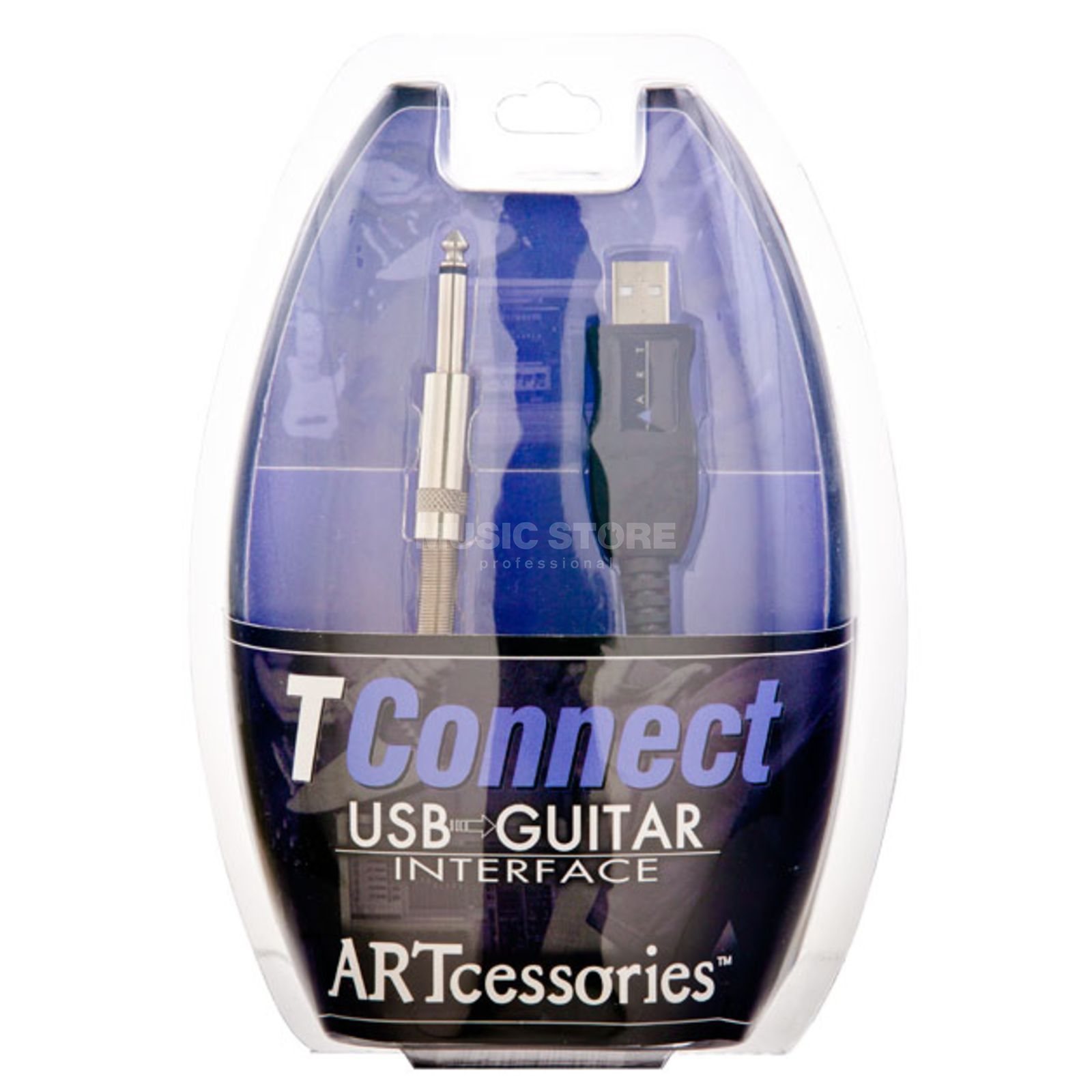 ART TConnect USB to Guitar Interface Cable Produktbillede