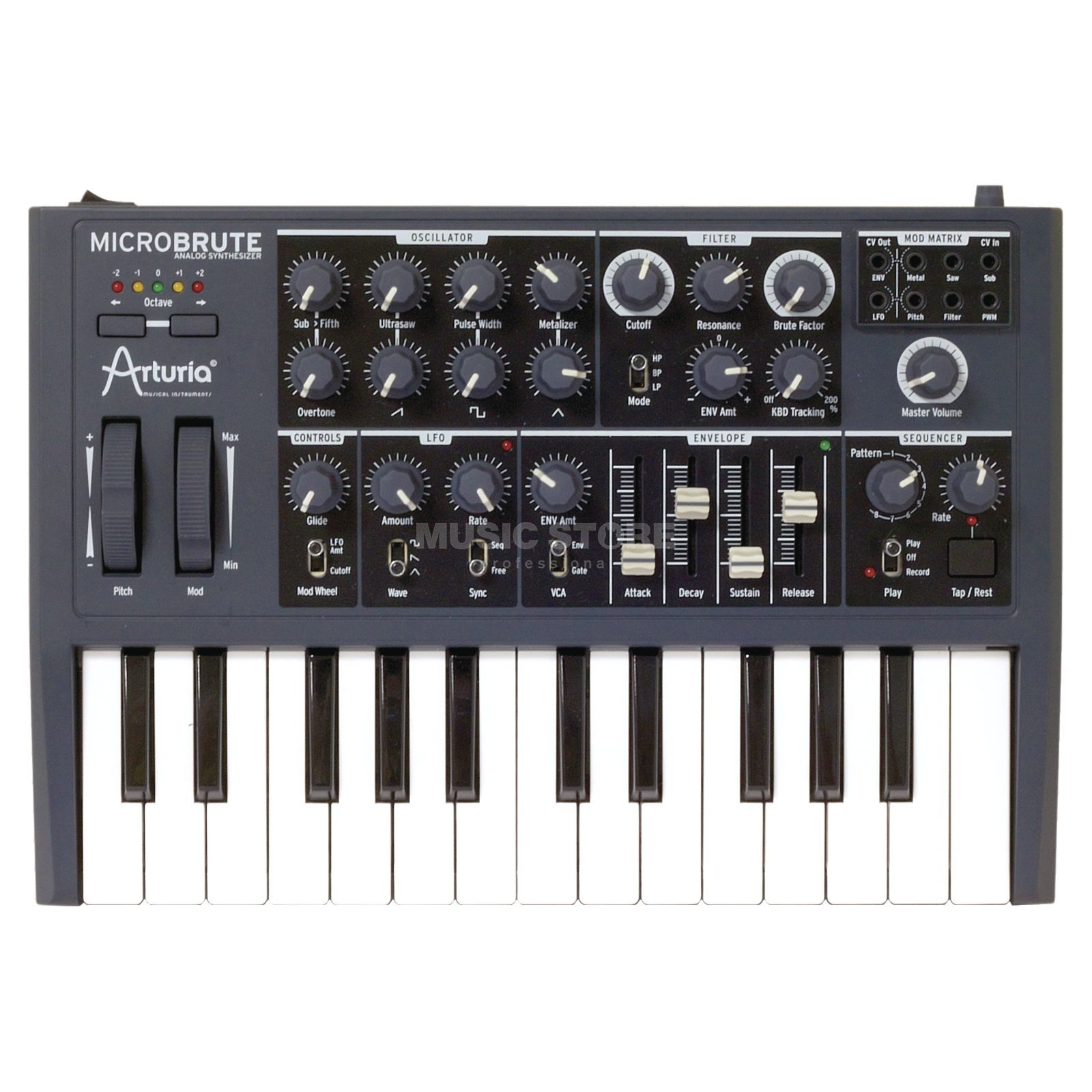 Arturia MicroBrute Analog Synthesizer Produktbillede