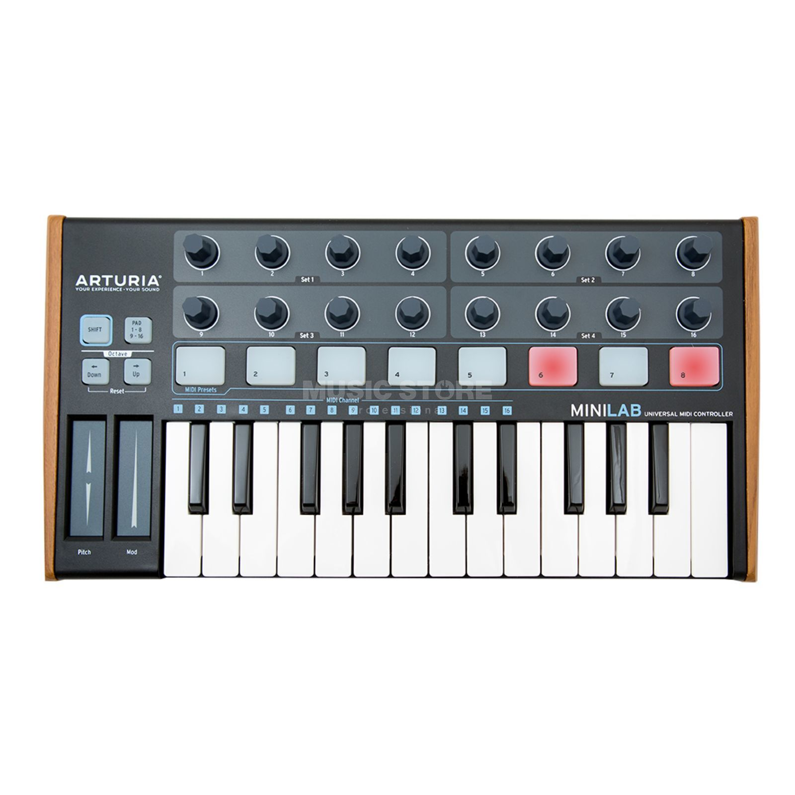 Arturia MiniLab BE Black Edition Produktbild