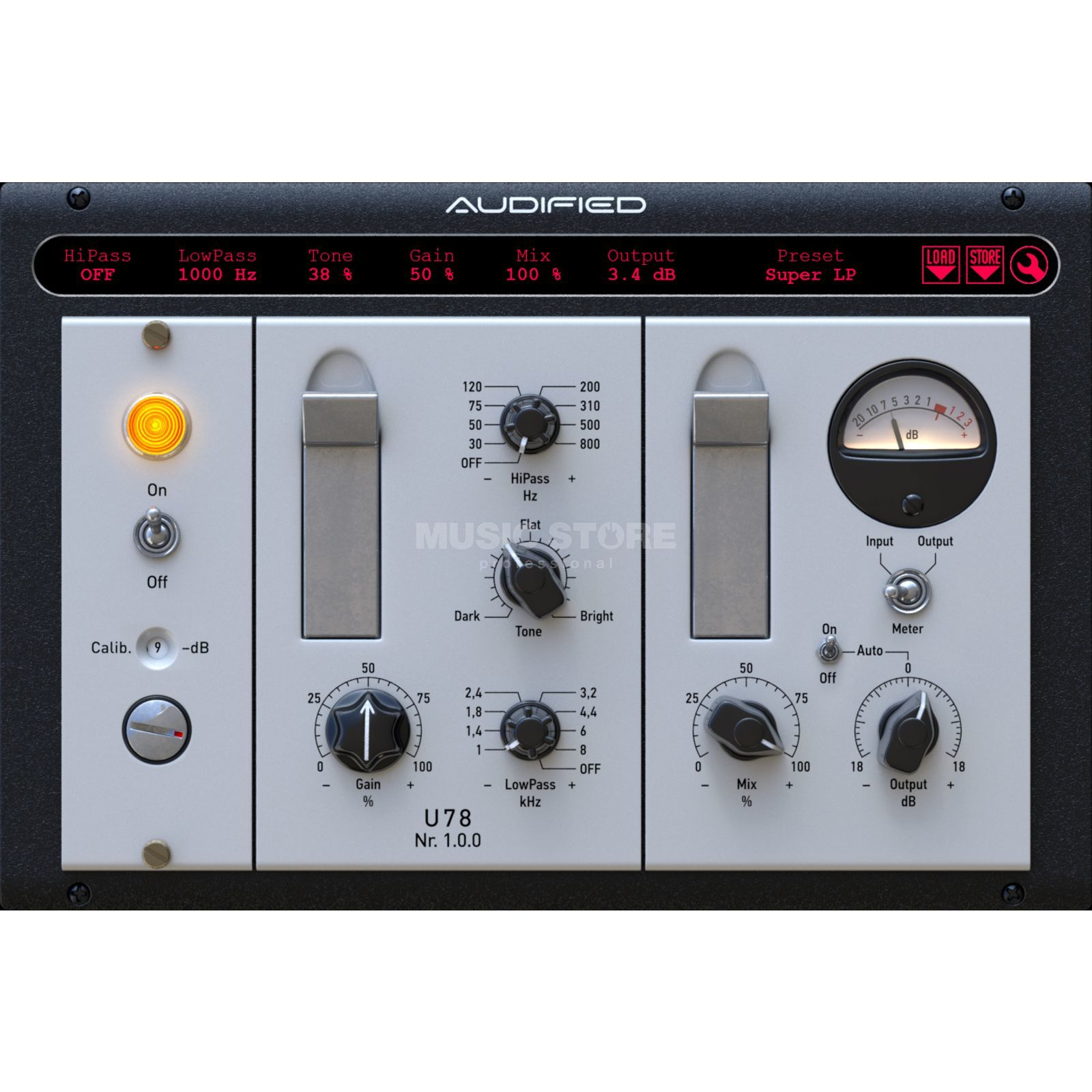 Audified U78 Saturator Product Image