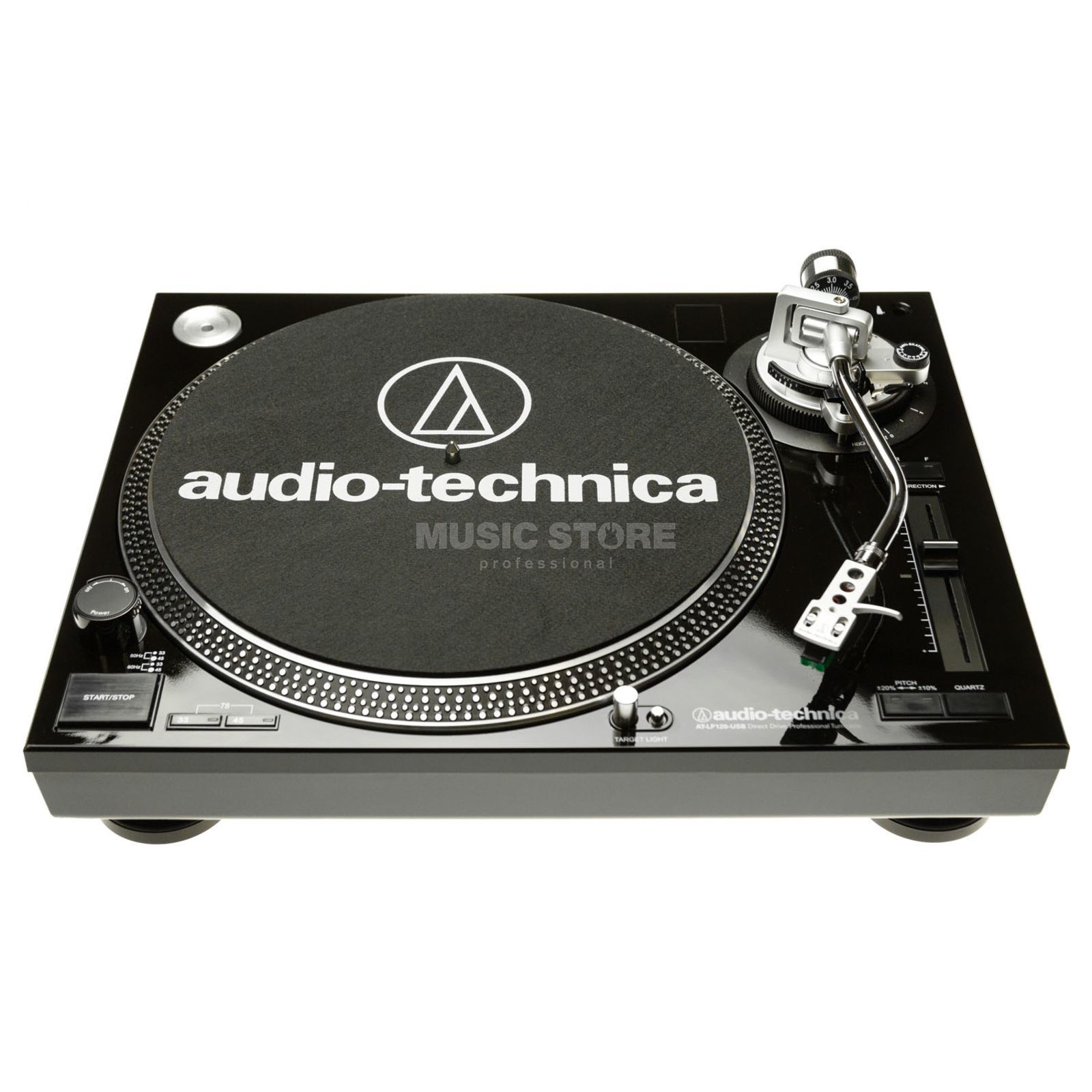 Audio-Technica AT-LP120USBHCBK Black OFFLINE Produktbillede