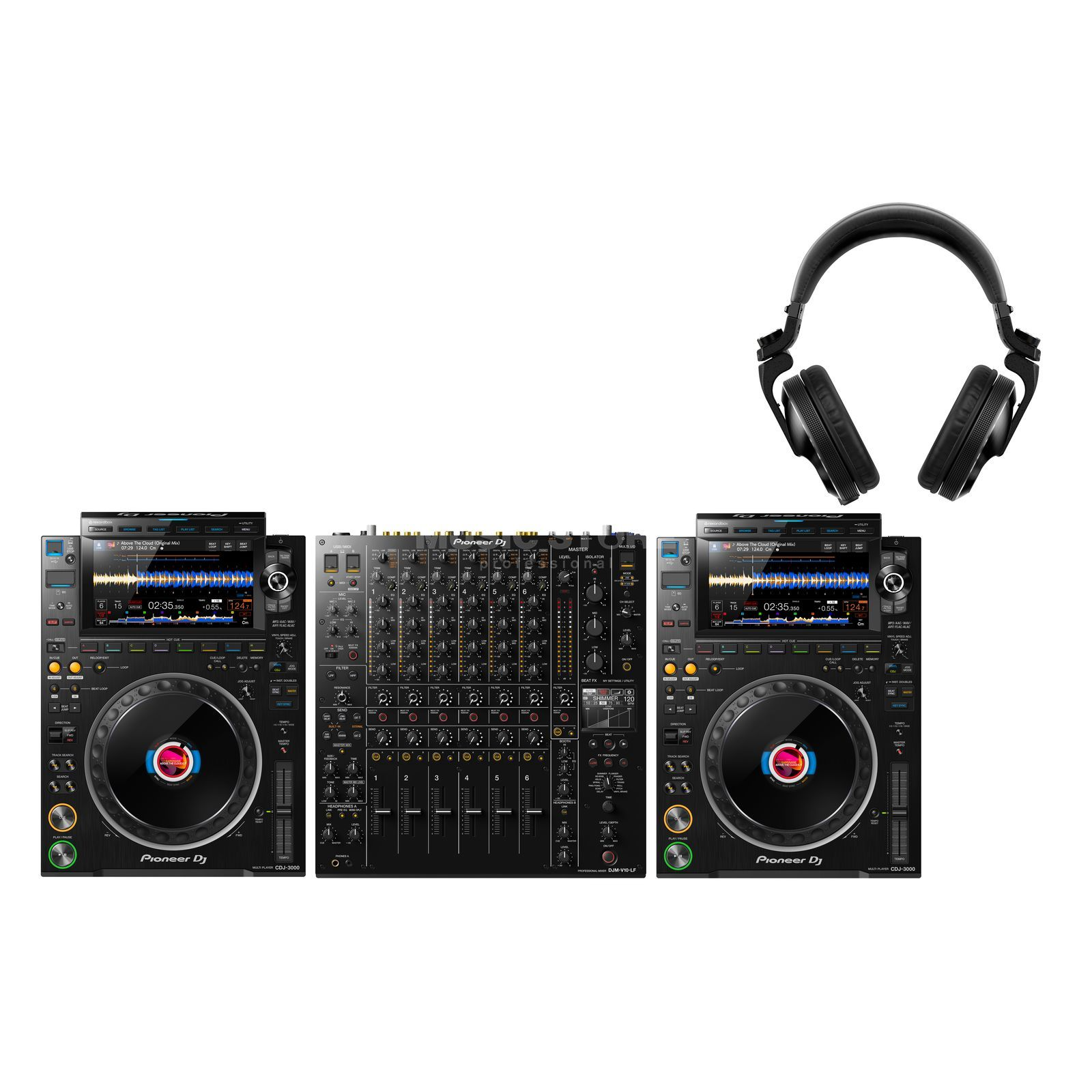 Audio-Technica AT-LP1240USB + MK2 Mix - Set Product Image