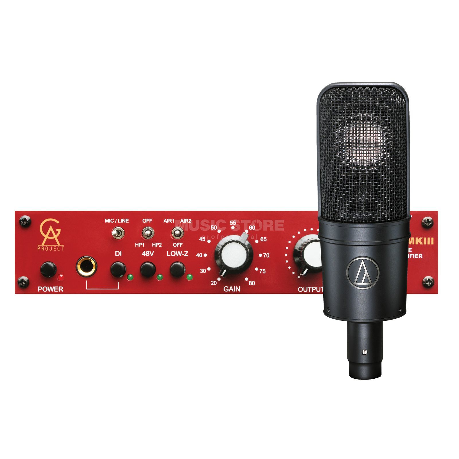 Audio Technica AT4040 SM + PRE-73 MK3 - Set Product Image