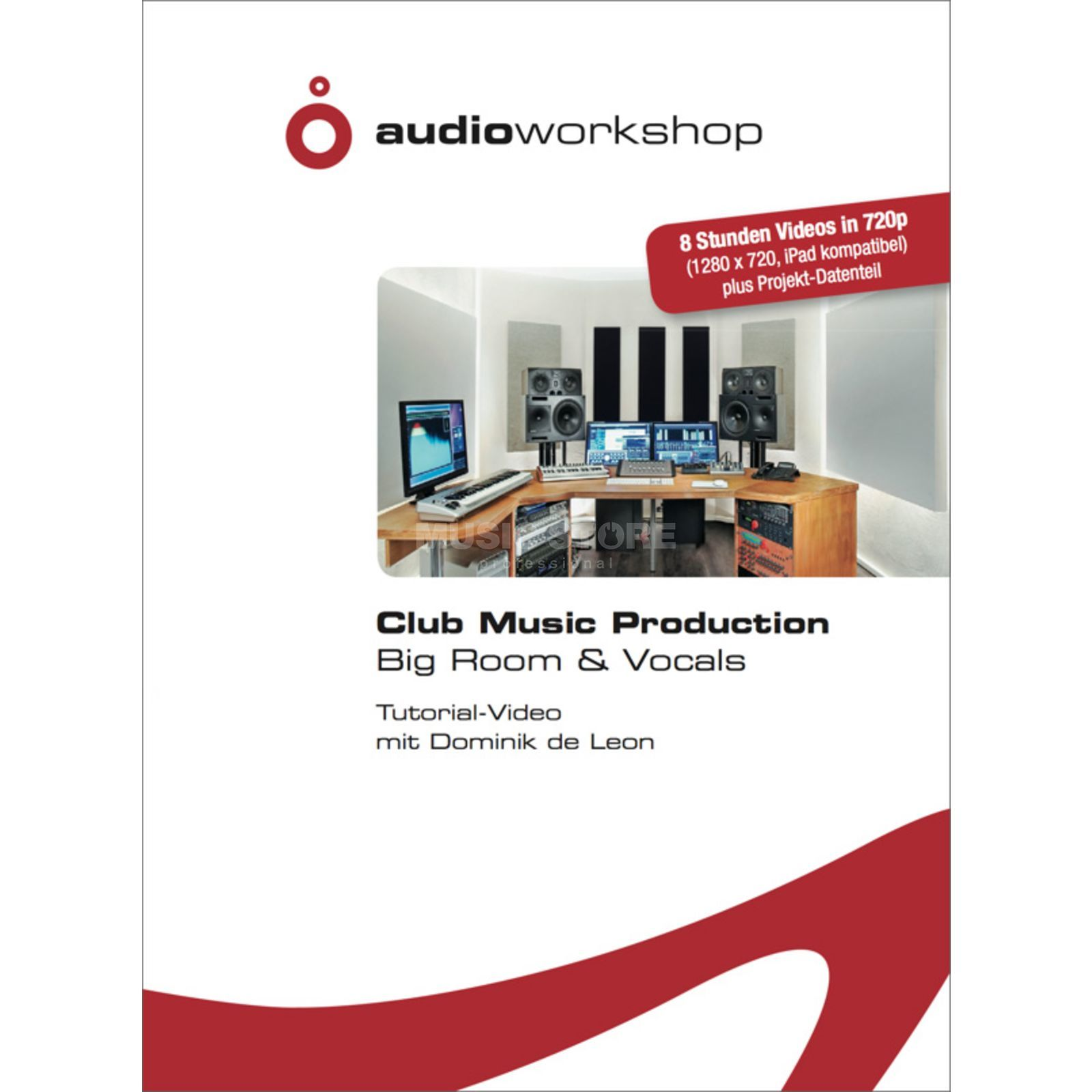 Audio Workshop Club Music Production Big Room & Vocals Tutorial DVD Produktbillede
