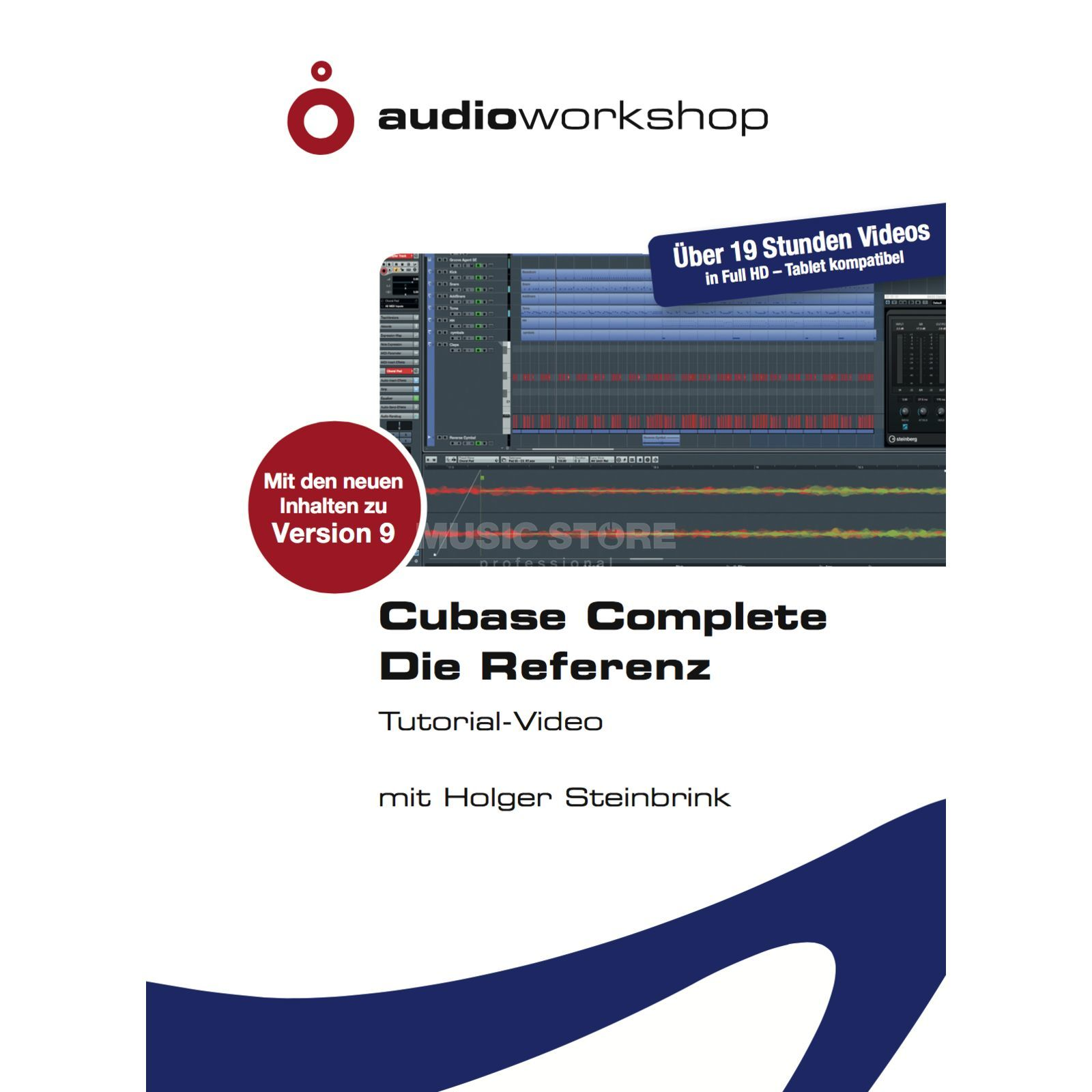 Audio Workshop Cubase Complete - Die Referenz  Produktbild