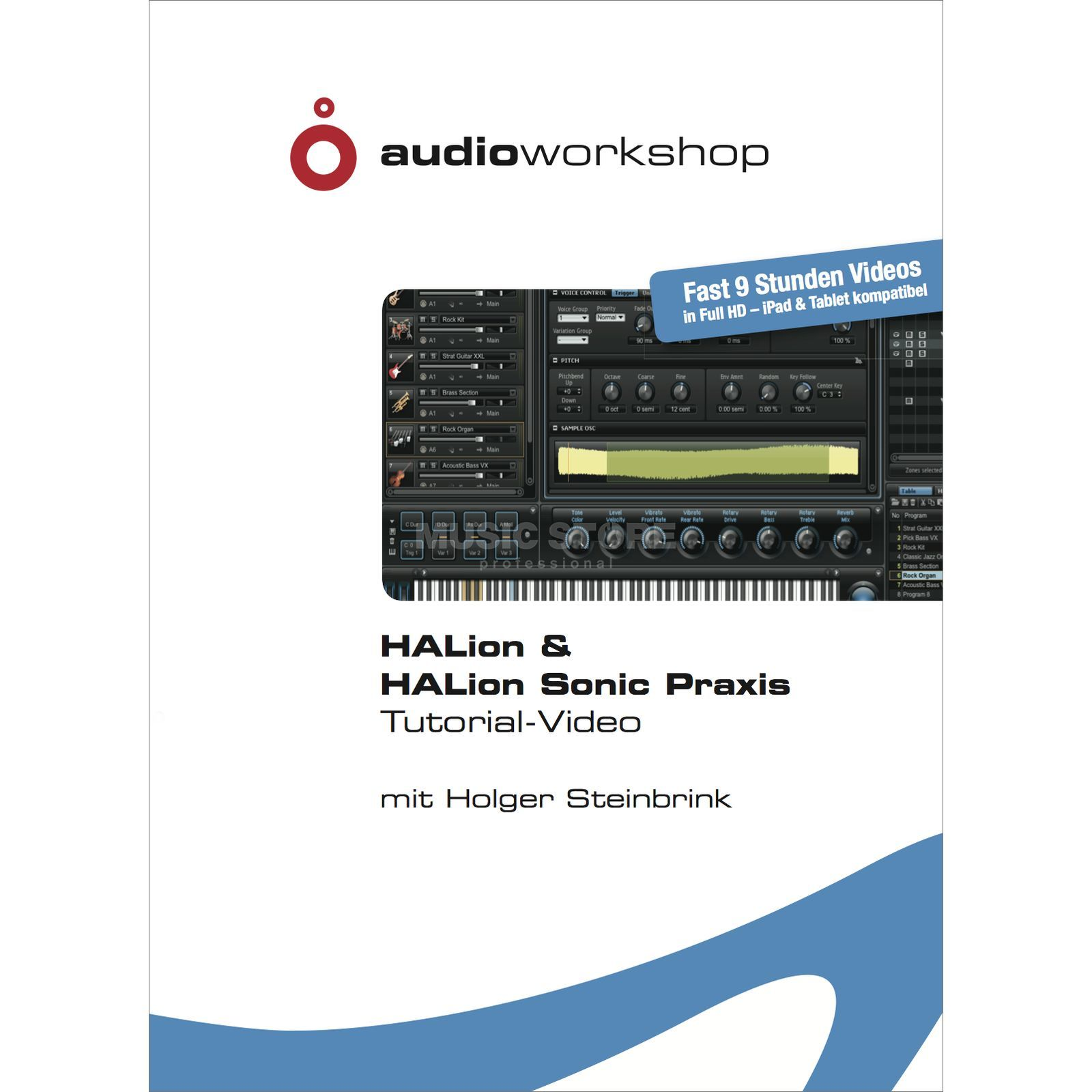 Audio Workshop HALion & HALion Sonic Praxis Tutorial DVD, DE Produktbild
