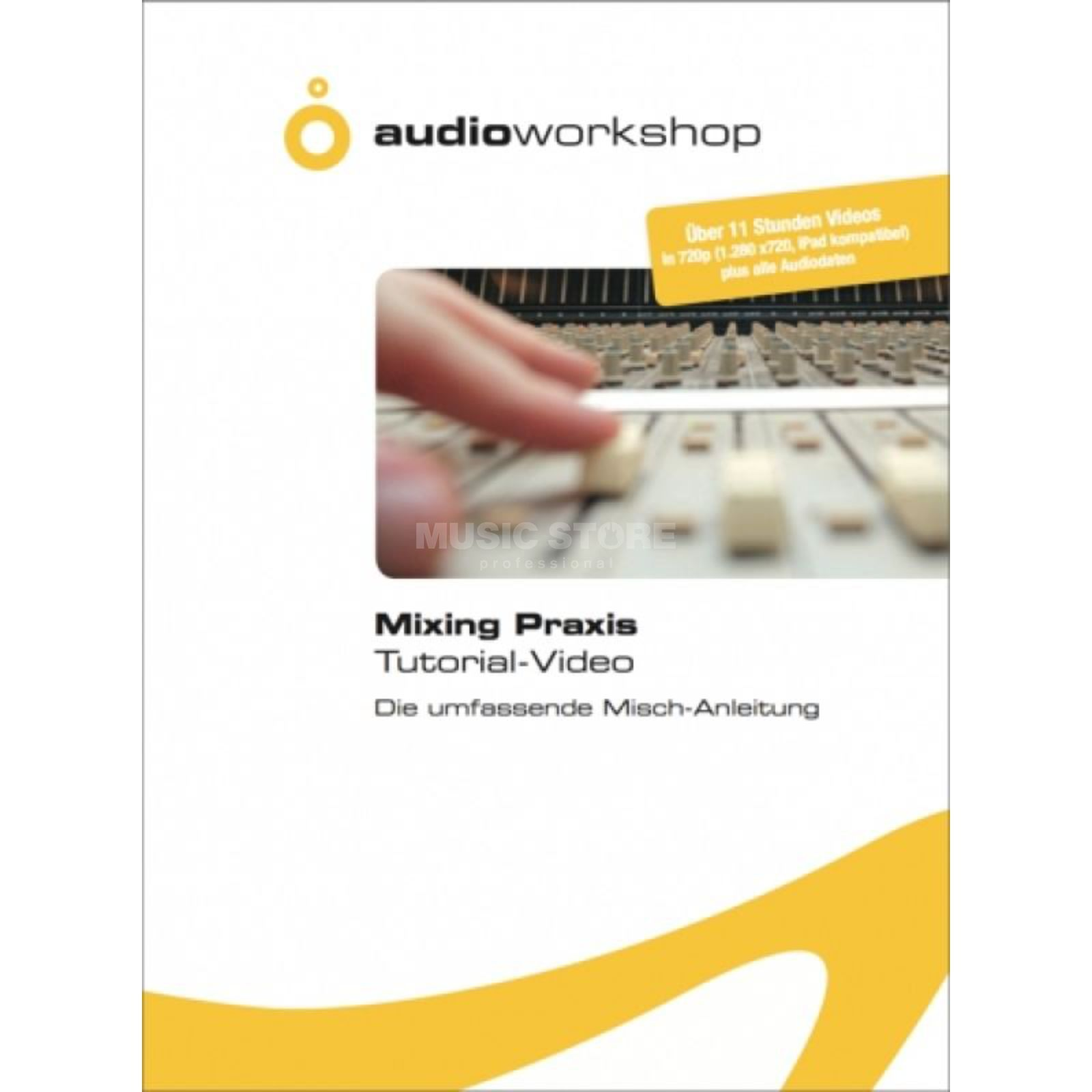 Audio Workshop Mixing Praxis Tutorial-Video Tutorial Daten DVD 11 Hours Produktbillede