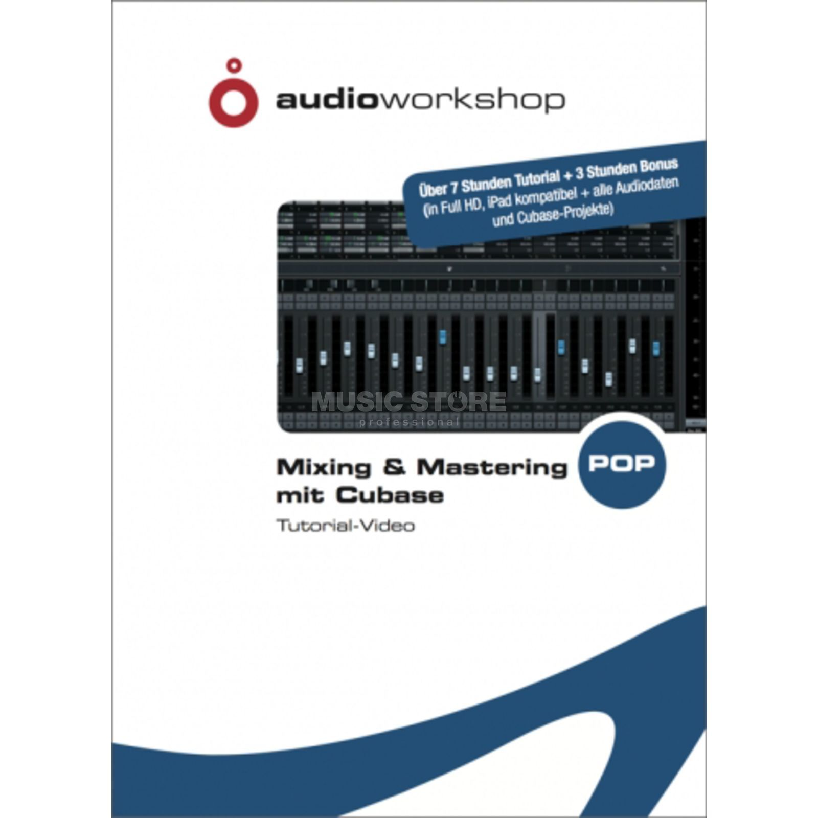 Audio Workshop Mixing & Mastering DVD mit Cubase Tutorial-Video Produktbild