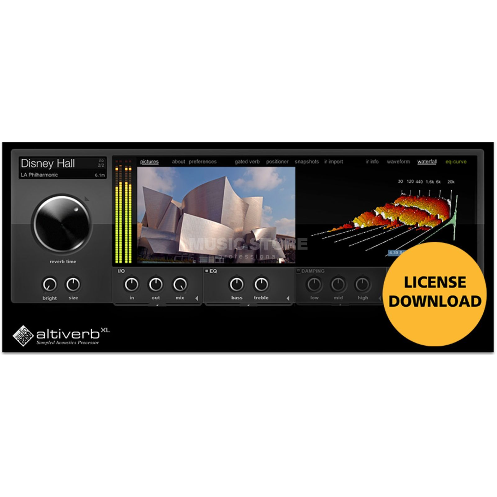Audioease Altiverb 7 XL  Produktbillede