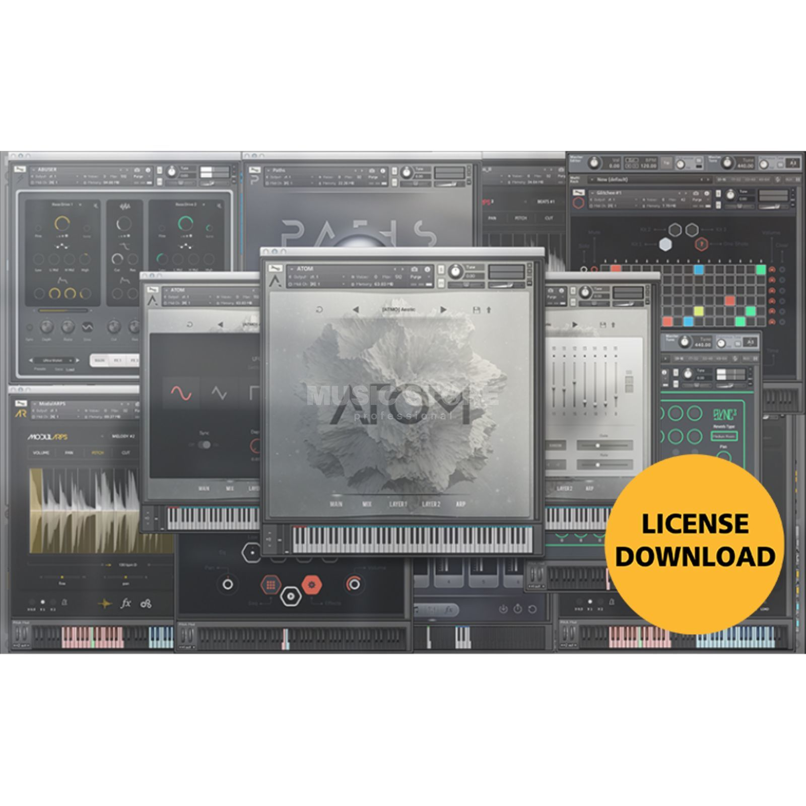 Audiomodern Instrument Bundle License Code Immagine prodotto