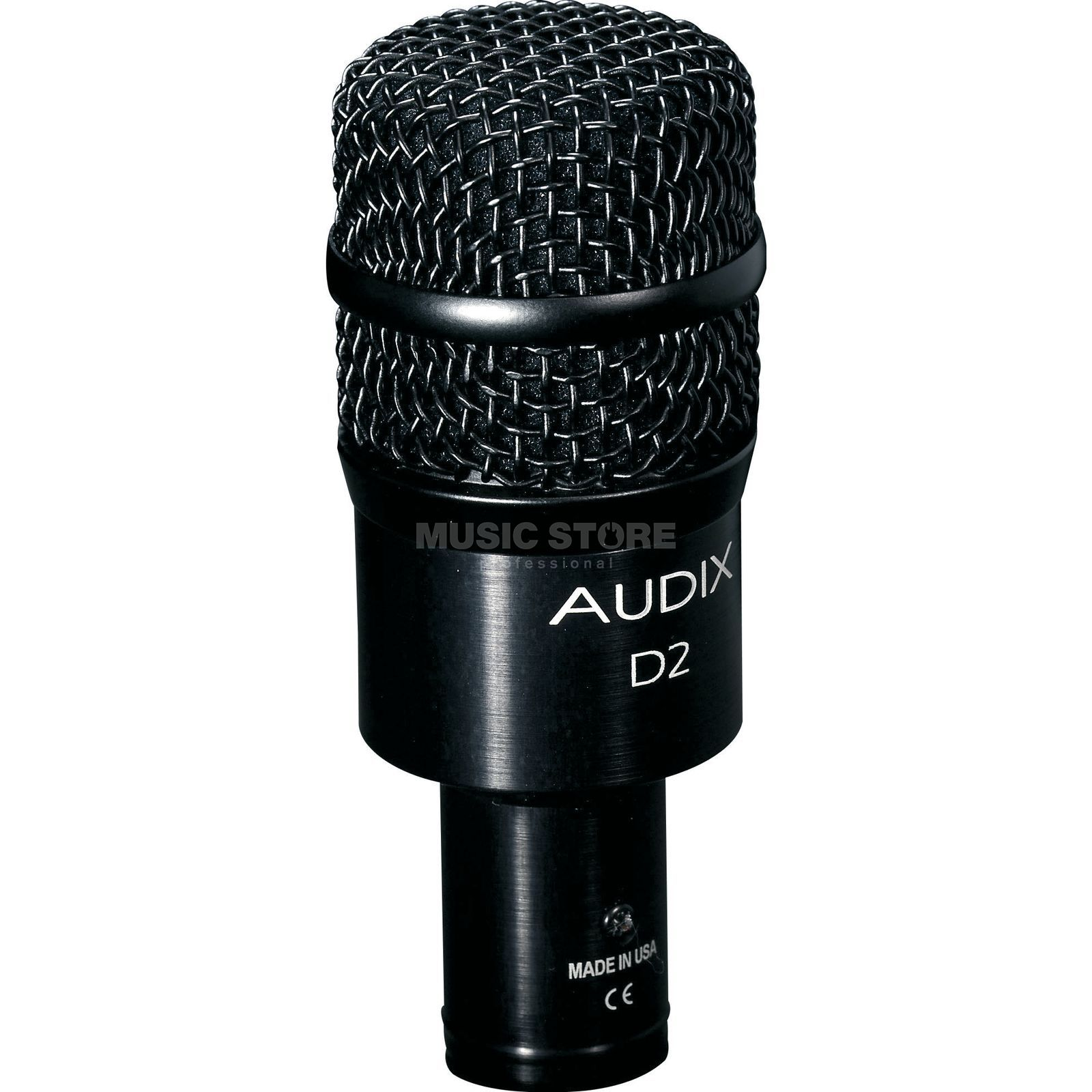 Audix D2 Dynamic Instrument Mic  Product Image