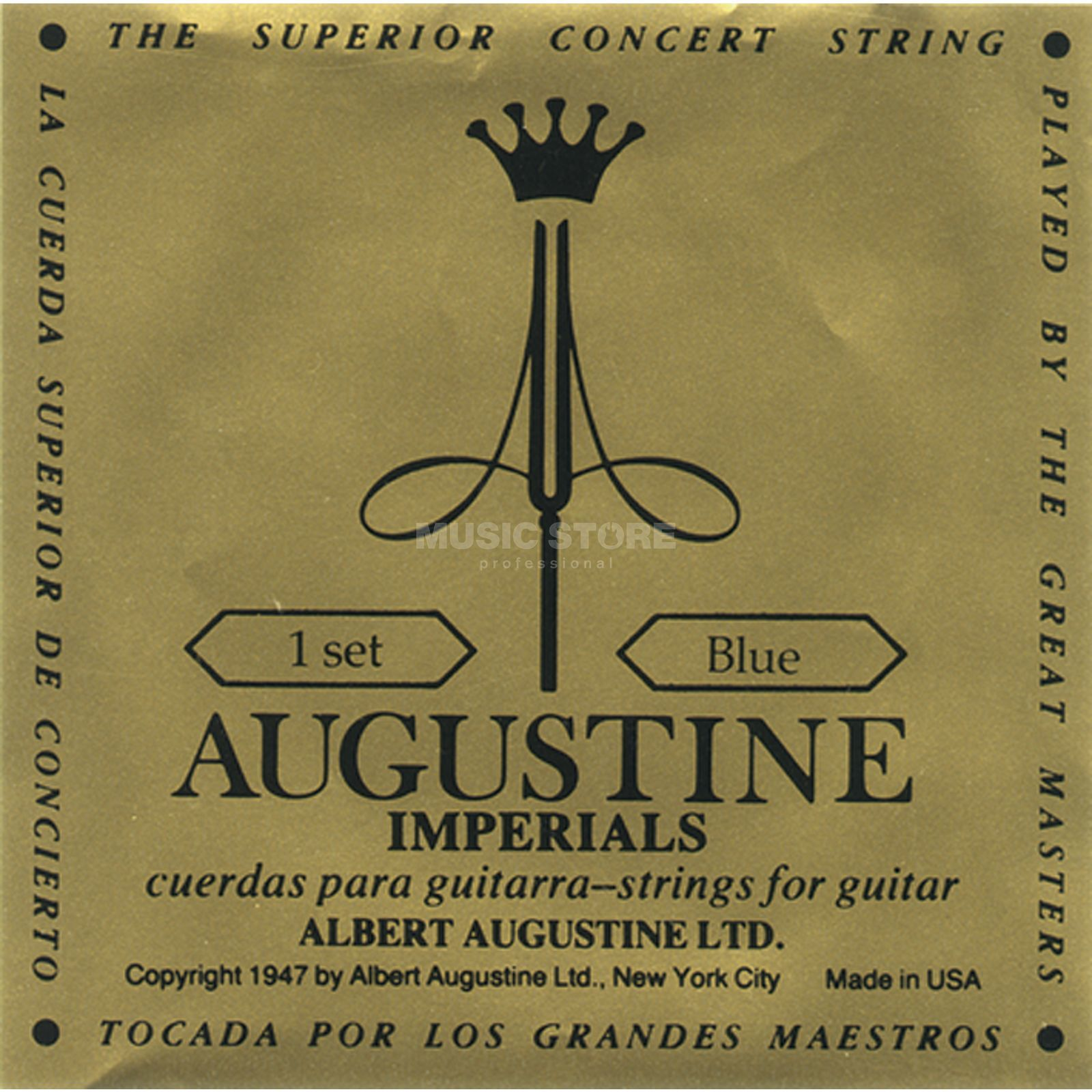 Augustine Classic Imperial Blue High Tension Produktbild