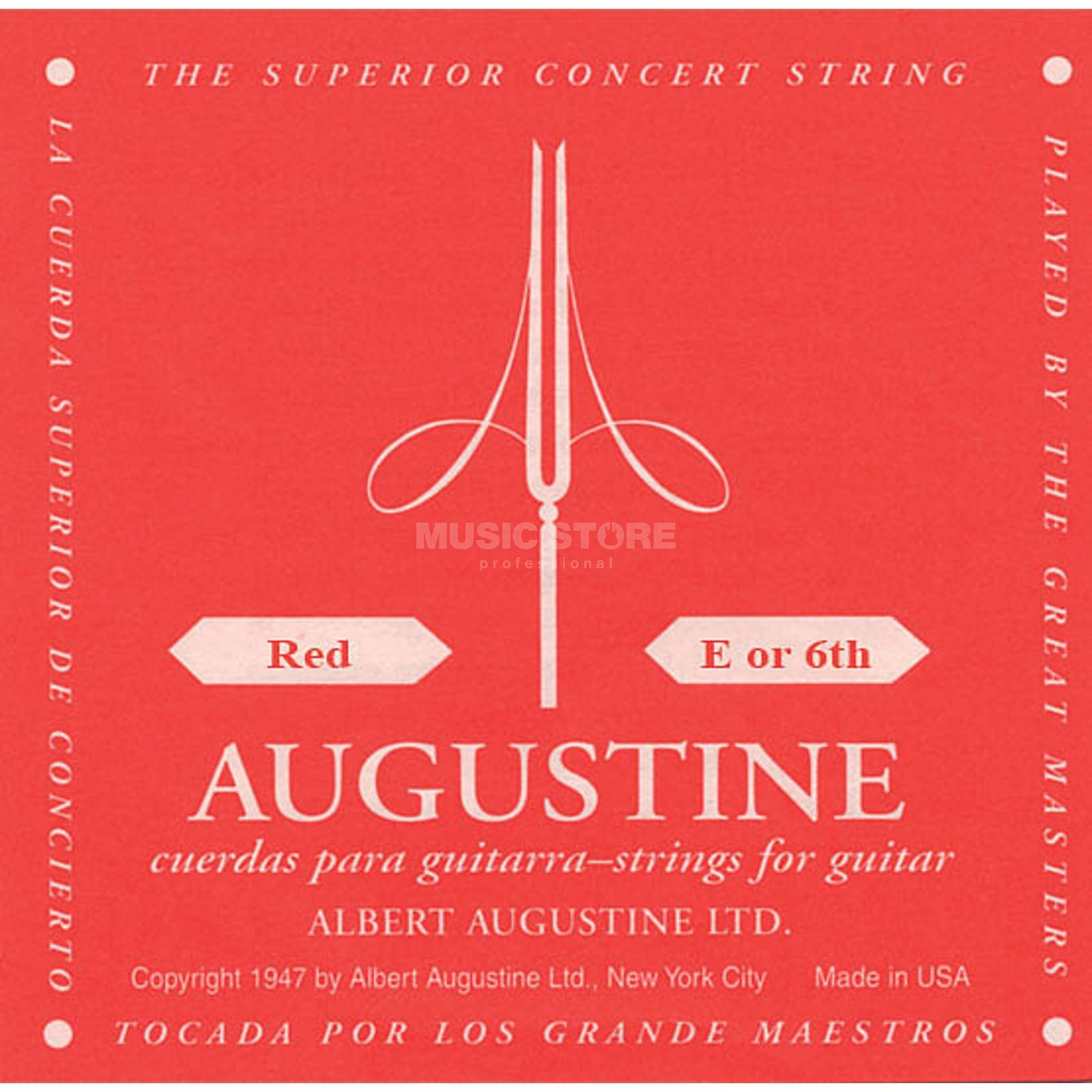Augustine Single String, 6e red  Produktbillede
