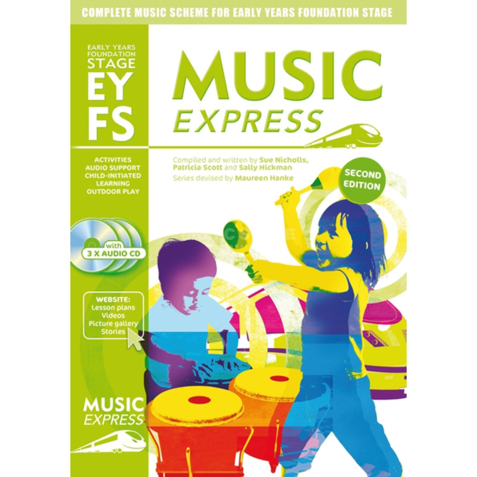 A&C Black Music Express: EYFS Early Years Foundation Stage Produktbillede