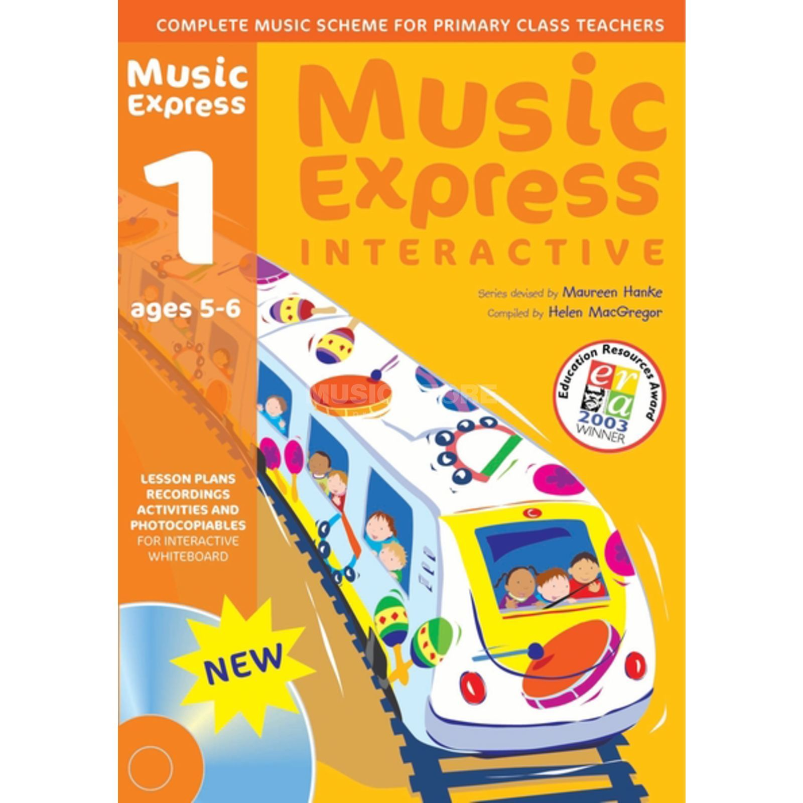 A&C Black Music Express Interactive - 1: Ages 5-6, CD-ROM Produktbild