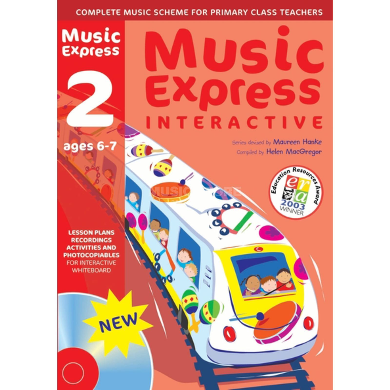 A&C Black Music Express Interactive - 2: Ages 6-7, CD-ROM Produktbillede