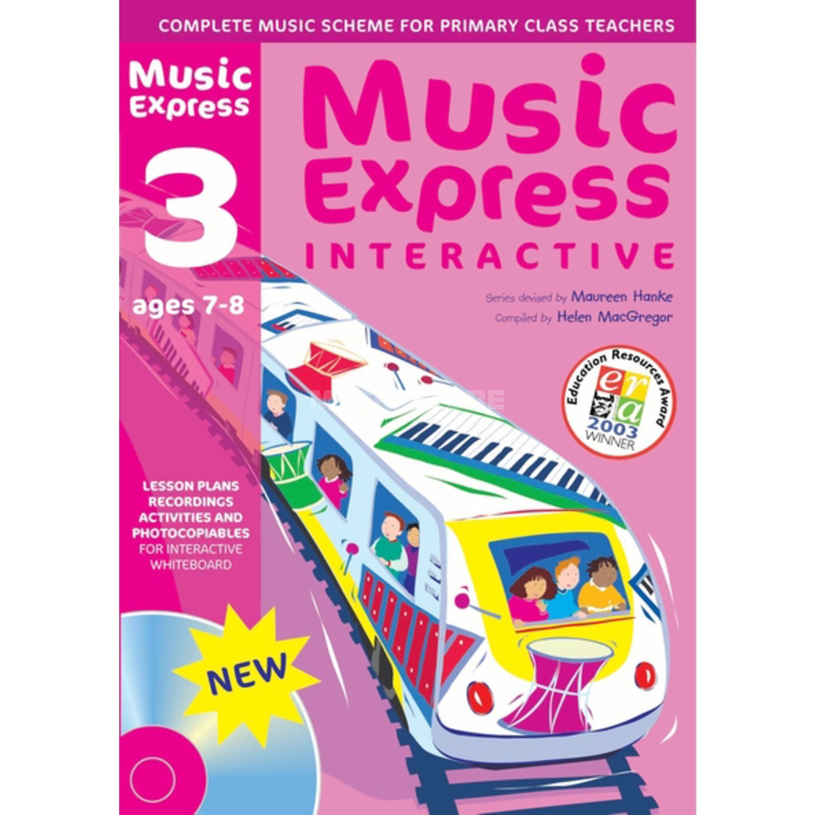 A&C Black Music Express Interactive - 3: Ages 7-8, CD-ROM Produktbillede