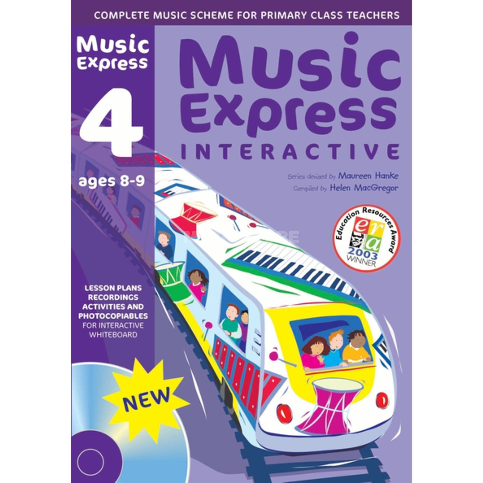 A&C Black Music Express Interactive - 4: Ages 8-9, CD-ROM Produktbild