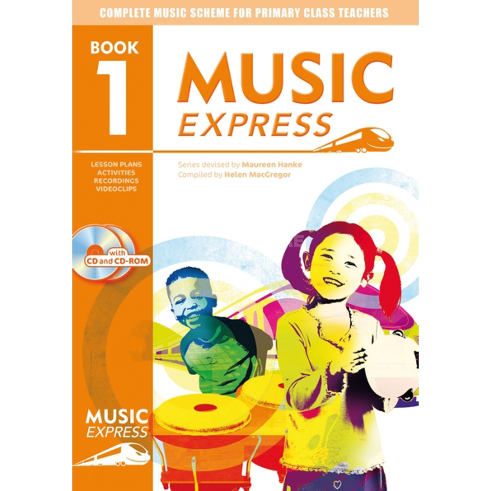 A&C Black Music Express: Year 1 Book, CD/CD-Rom Produktbillede