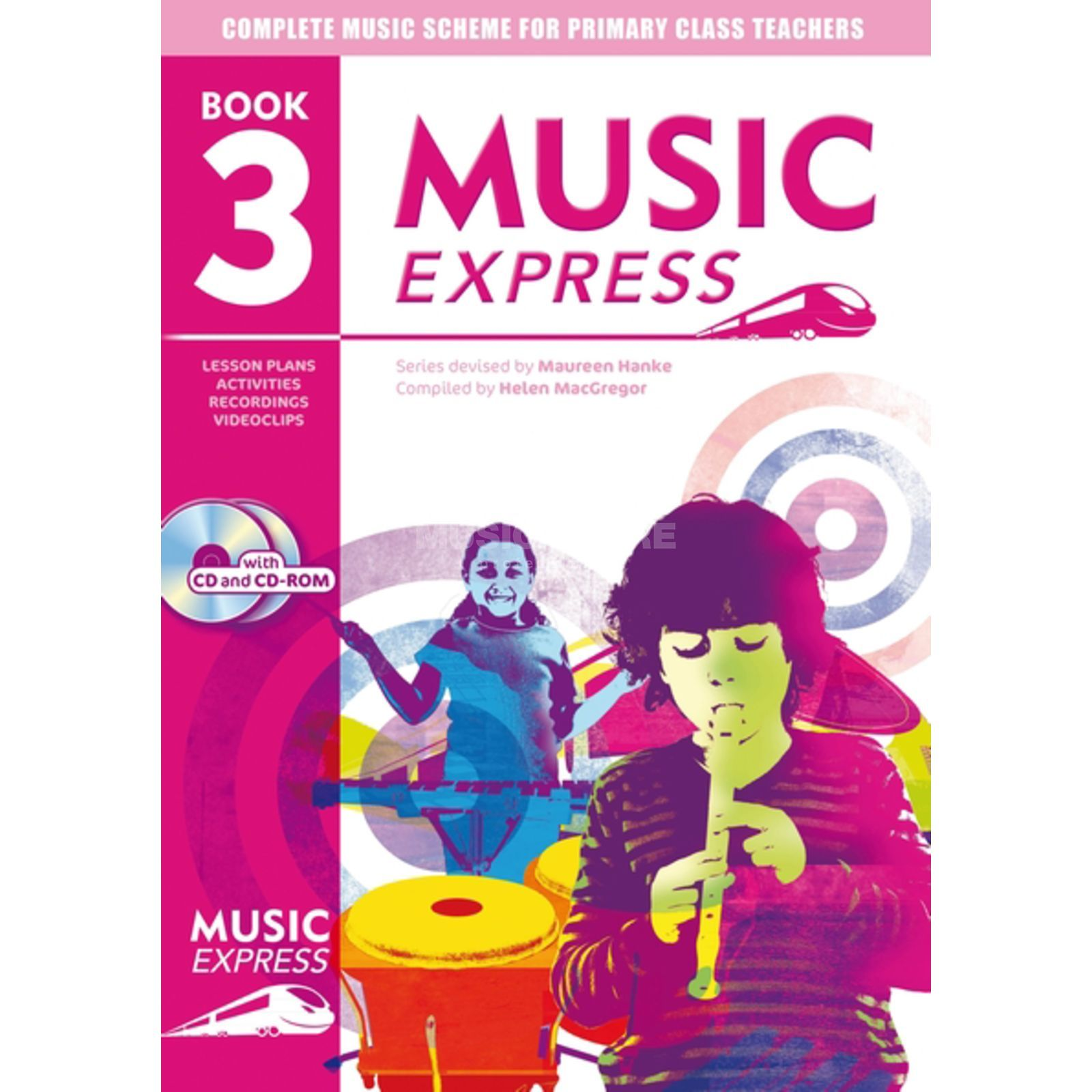 A&C Black Music Express: Year 3 Book, CD/CD-Rom Produktbild