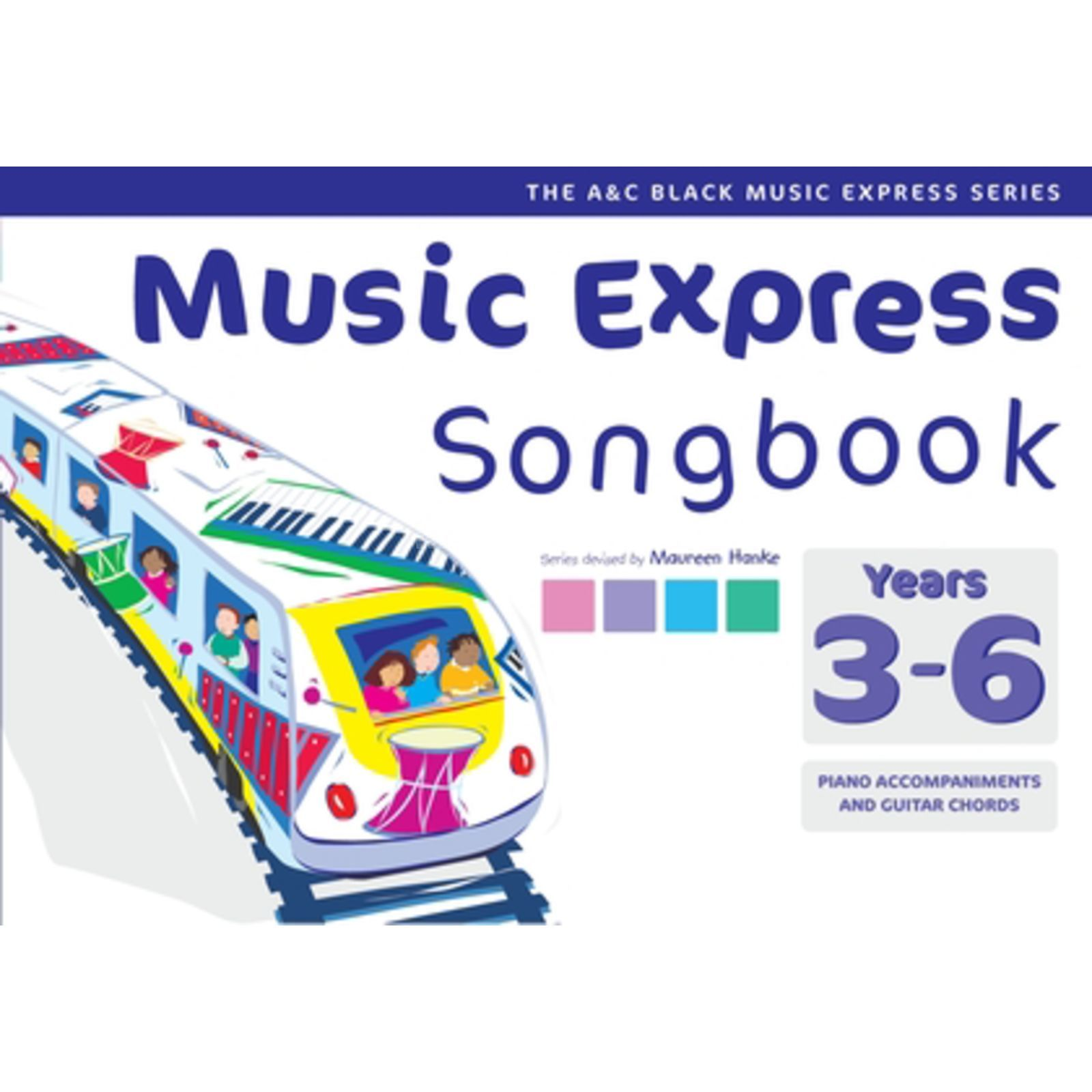 A&C Black Music Express Years 3-6 Songbook Produktbild