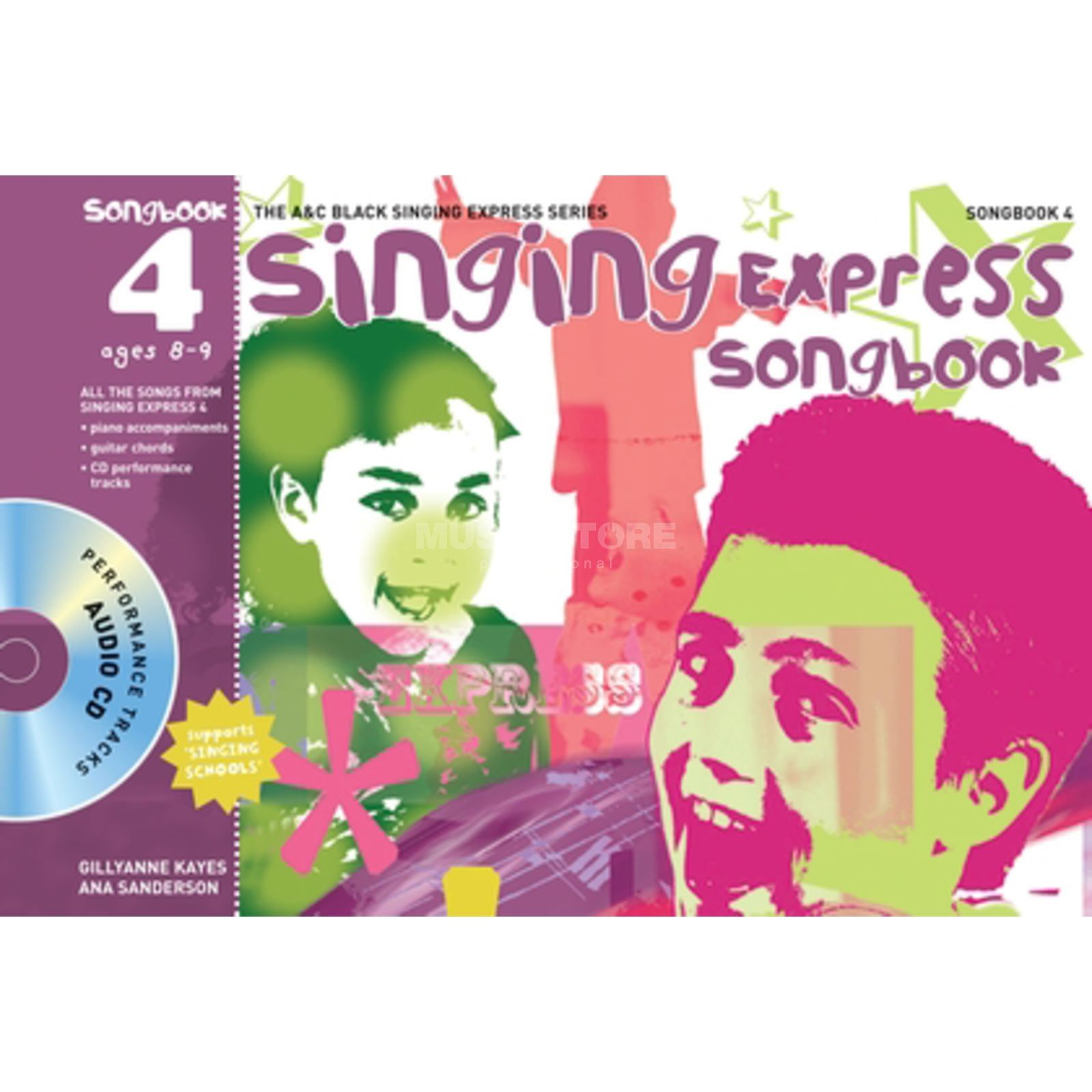 A&C Black Singing Express 4 Book, CD Product Image