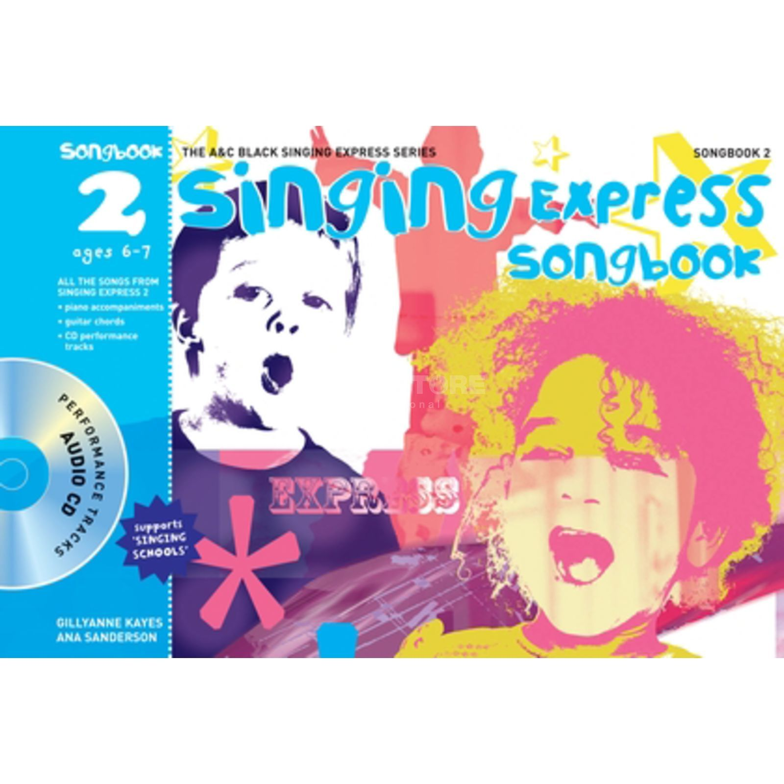A&C Black Singing Express Songbook 2 Book, CD Produktbild