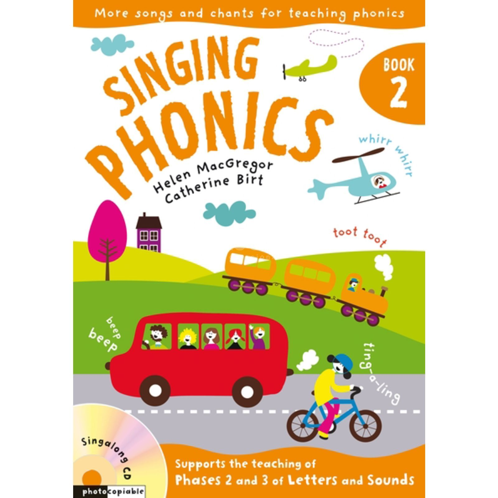 A&C Black Singing Phonics 2 Book, CD Produktbild