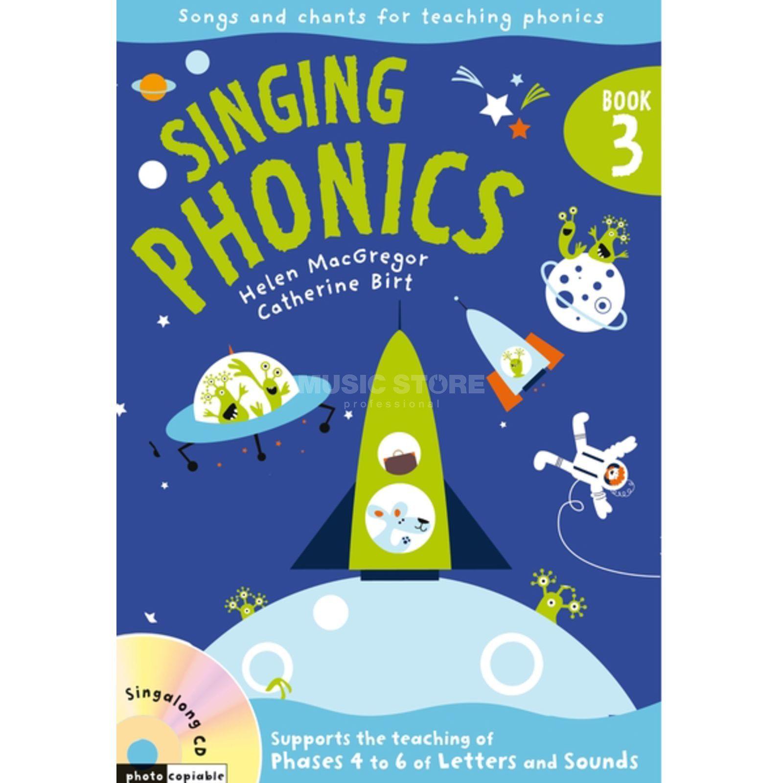 A&C Black Singing Phonics 3 Book, CD Produktbild