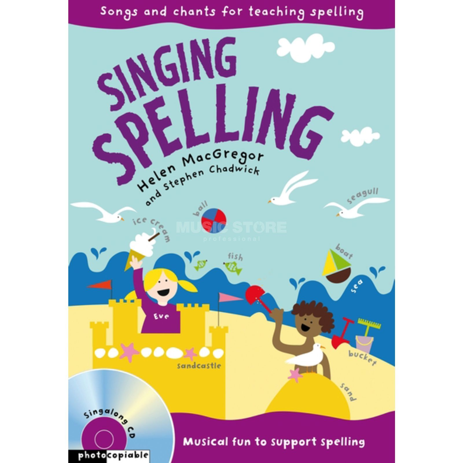 A&C Black Singing Spelling Audio-CD and Book Produktbillede