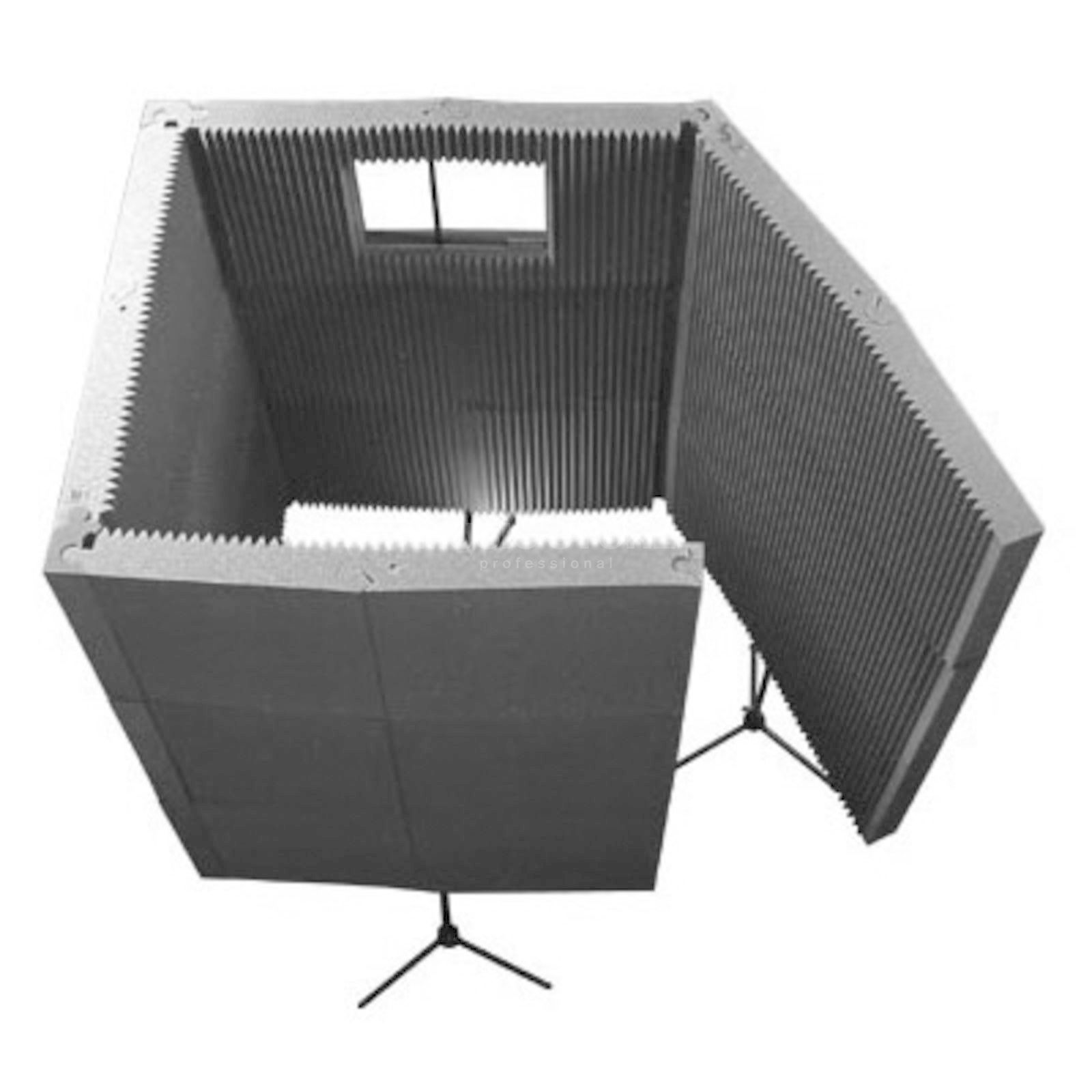 Auralex Max - Wall 1141VB Kit/ Gray 11x - Panel/1x - Window/4x - Stand Product Image