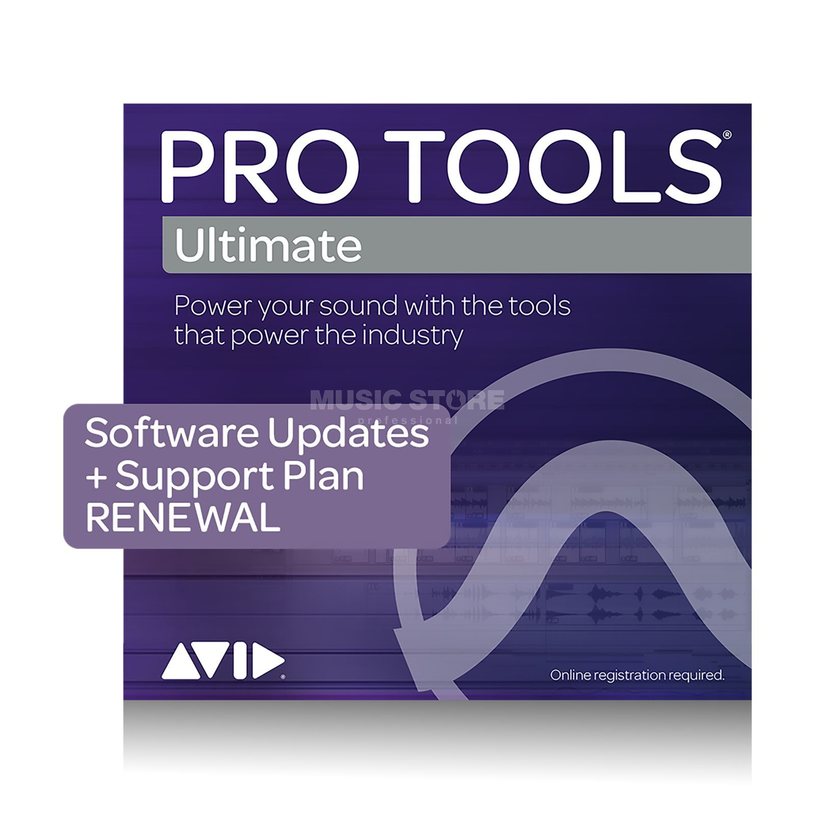 Avid Adv. Support for Pro Tools HD 12 month, Activation Card Produktbillede