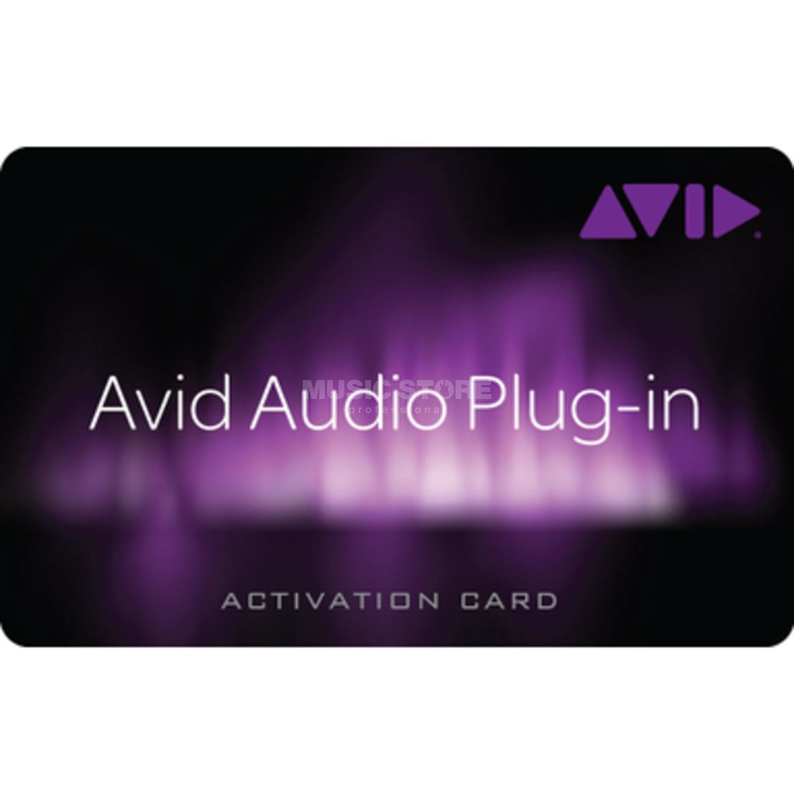 Avid Audio Plug-In Activation Card Tier 2 Produktbillede