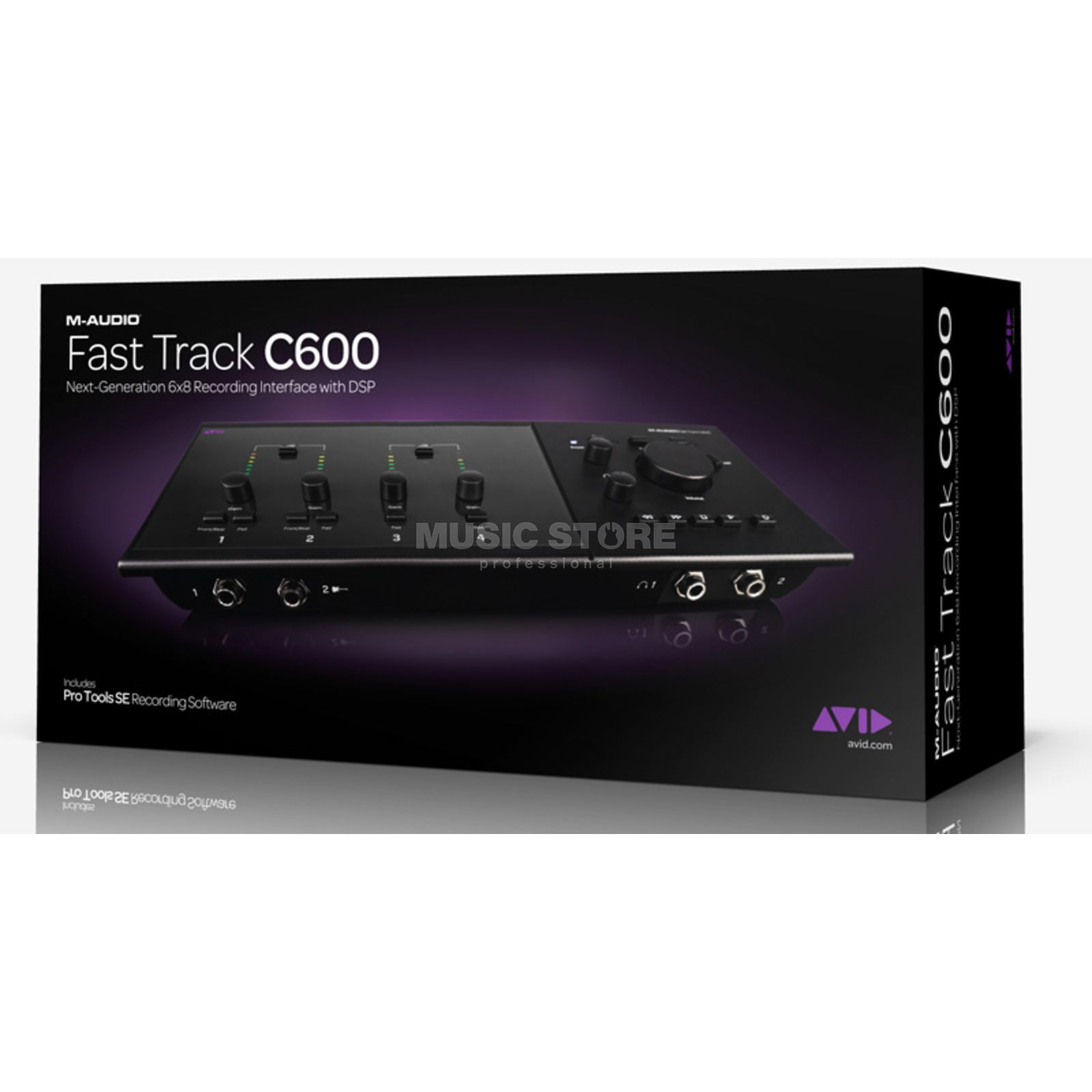 Avid Fast Track C600 USB Audio Interface Produktbillede
