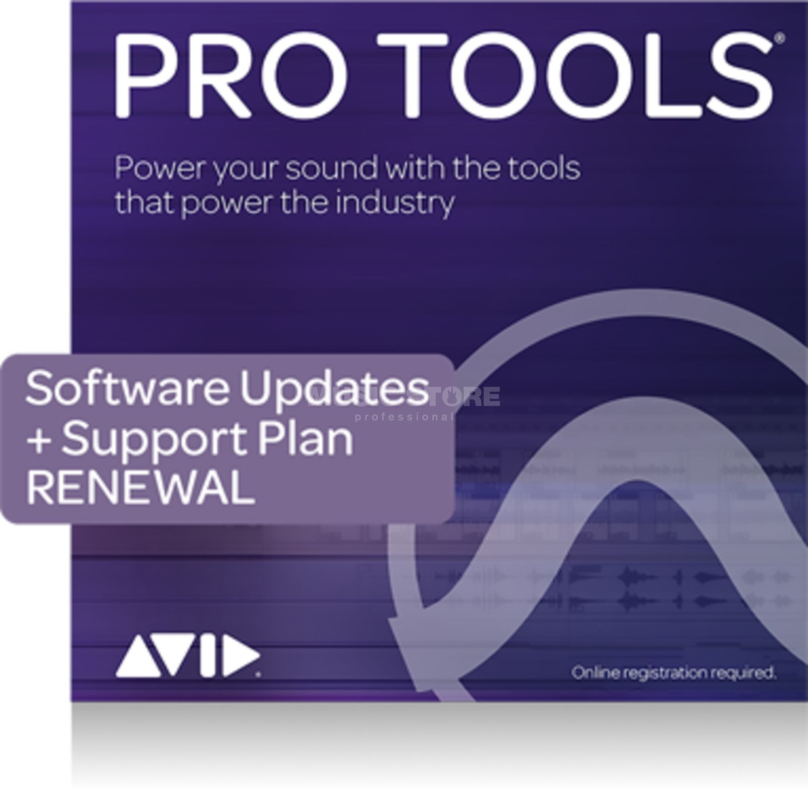 Avid Pro Tools Upgrade Plan 12 Months Renewal Product Image