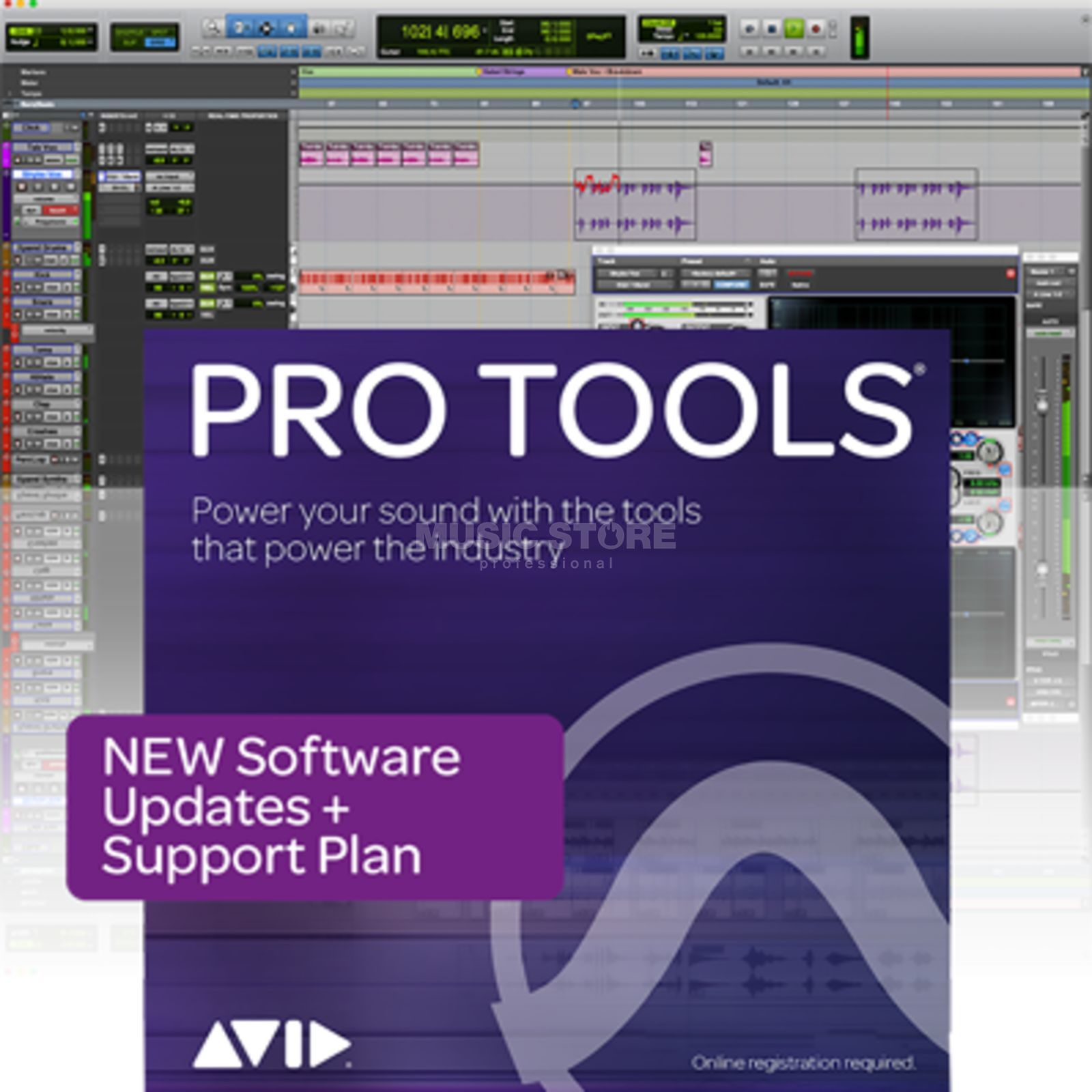 Avid Pro Tools Upgrade Plan Reaktivierung Laufzeit 12 Monate Product Image