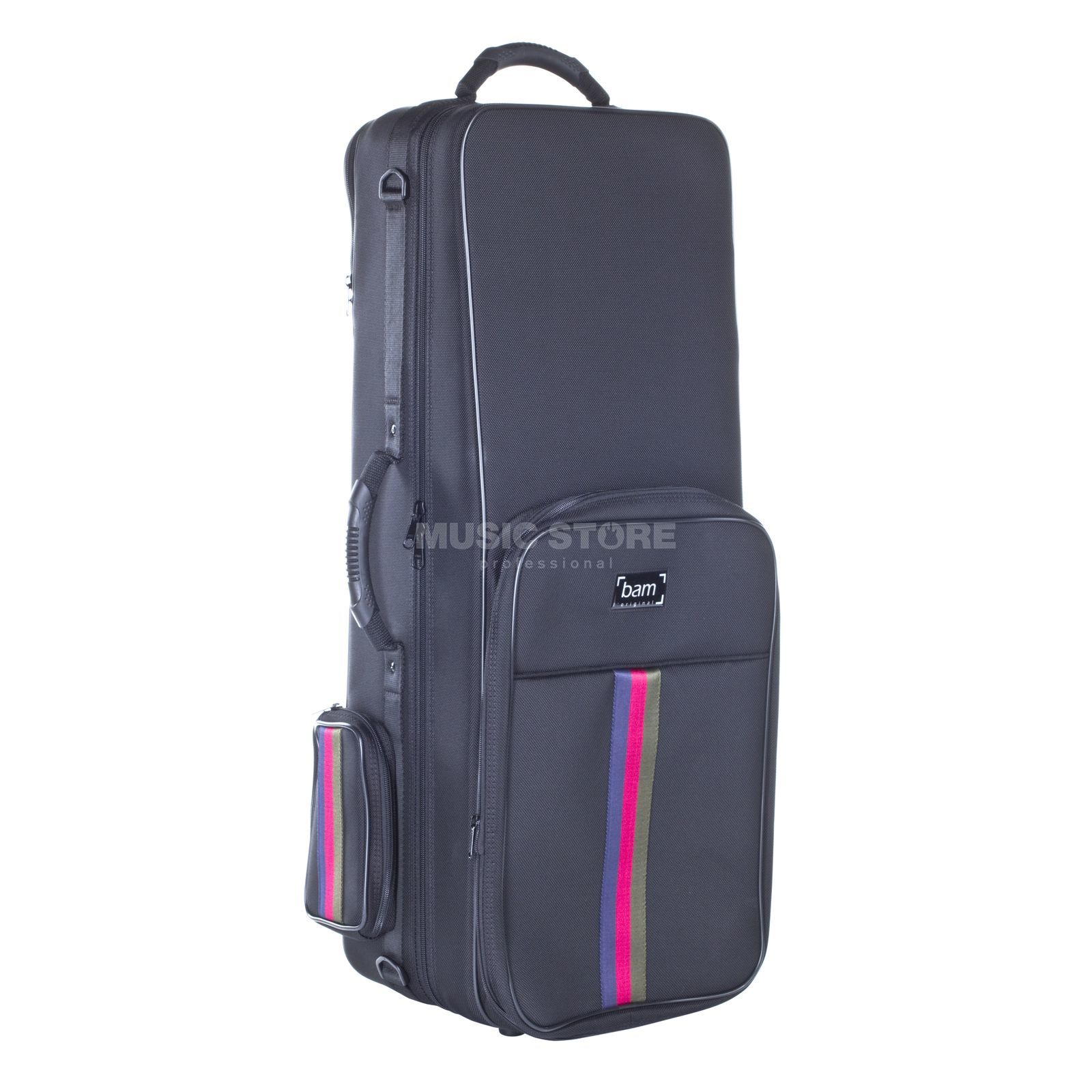 Bam SG3021SN Alto Sax Saint Germain Trekking Case - Black Product Image