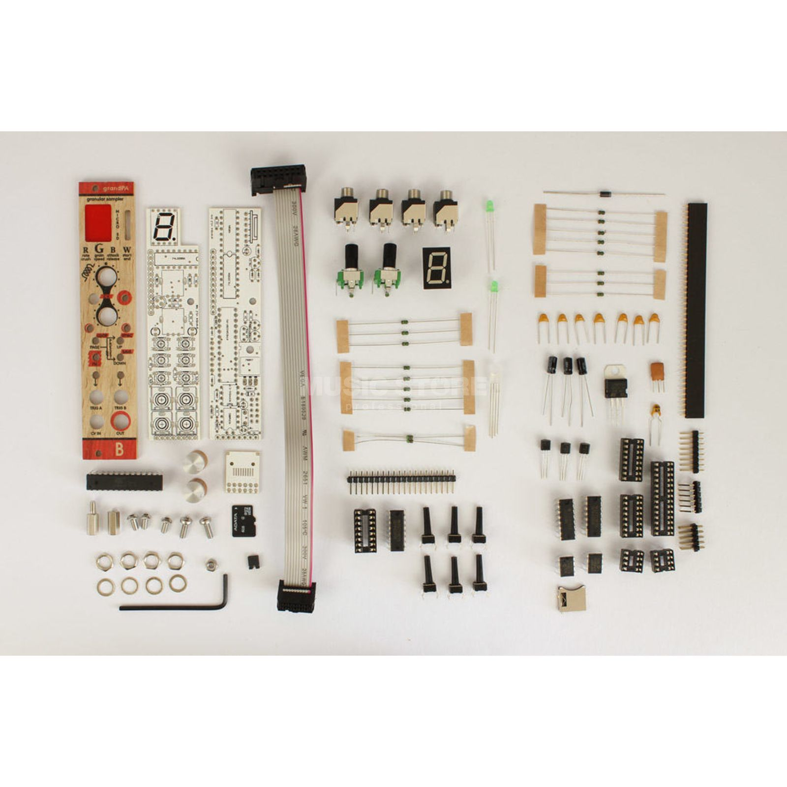 Bastl Instruments grandPa DIY KIT DIY granular sampler Product Image