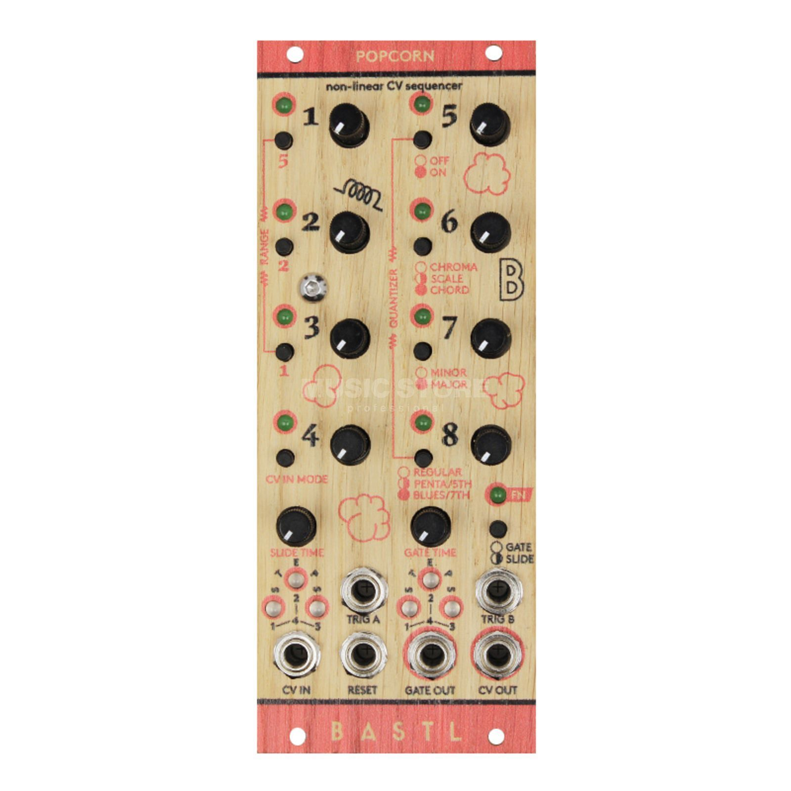 Bastl Instruments Popcorn 8–Step Sequencer Product Image
